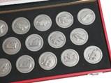 Ferrari Greatest Victories Titanium Medals - $
