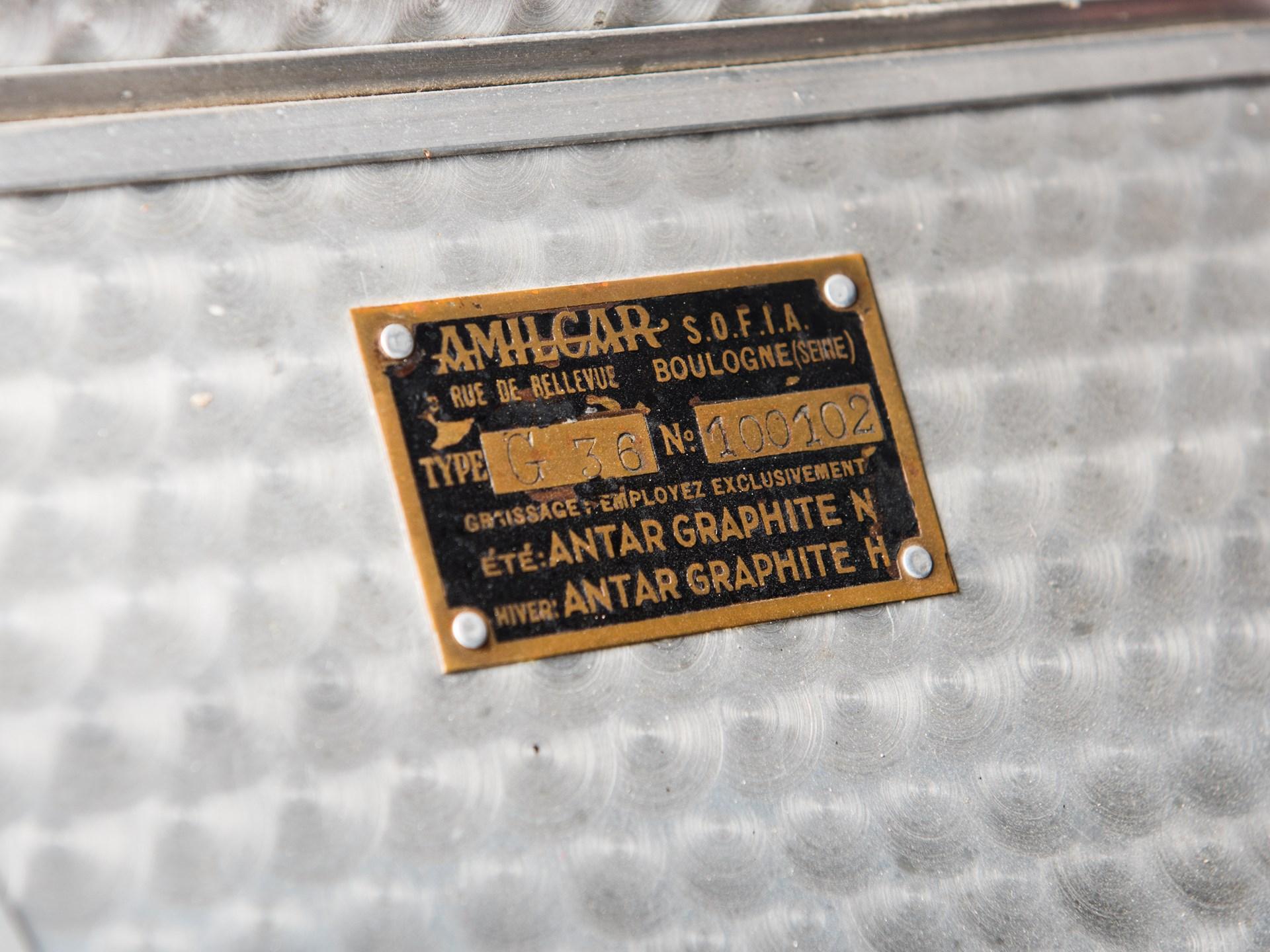 1935 Amilcar Pegasé Racer Grand Sport in the style of Figoni et Falaschi