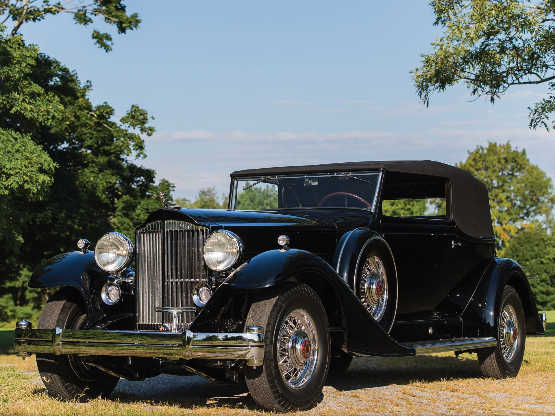 1933 Packard Twelve Convertible Victoria