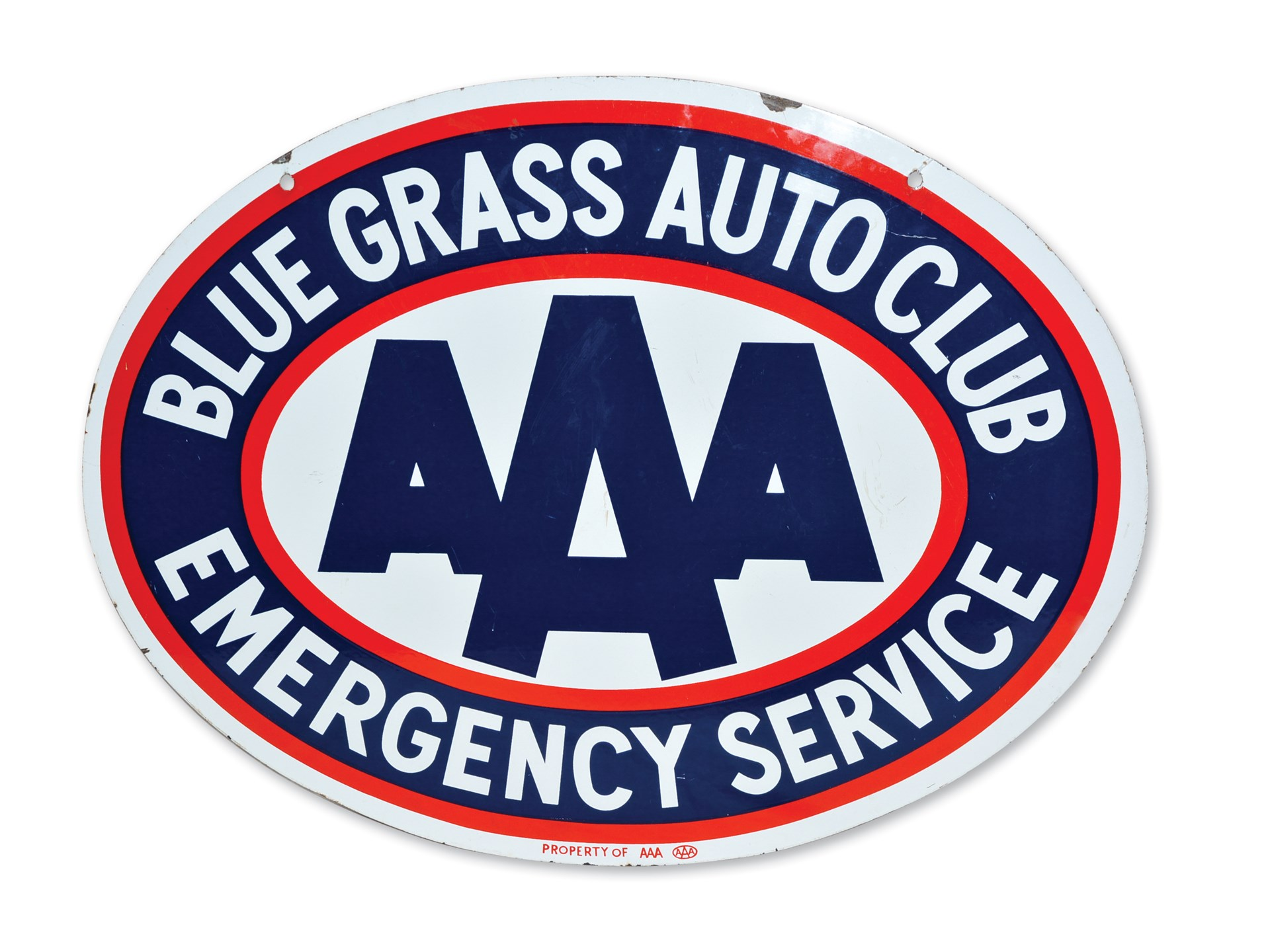 Aaa Auto Club Near Me >> Rm Sotheby S Aaa Blue Grass Auto Club Emergency Service Sign