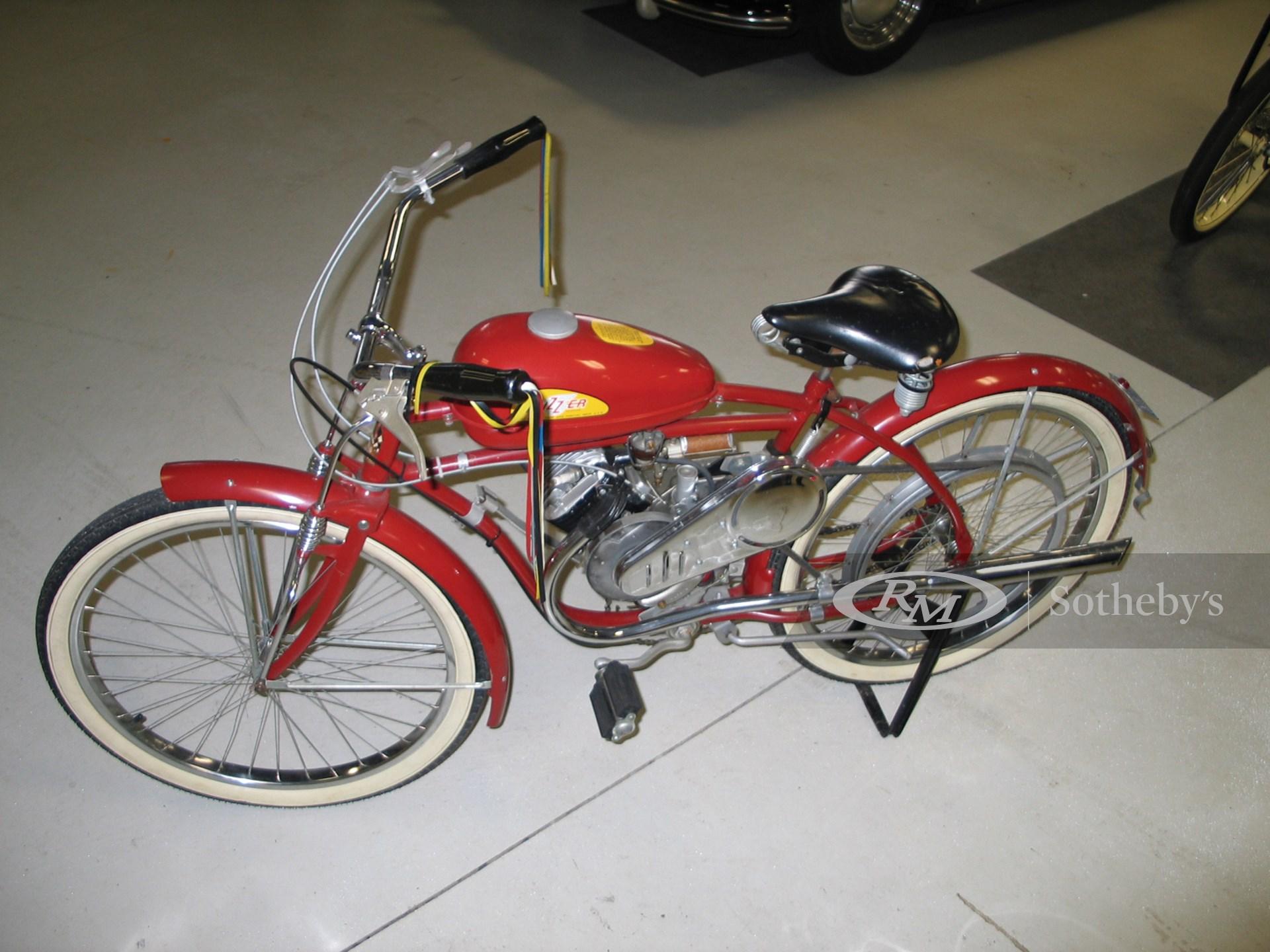 1940 Whizzer Cleveland Iron Works Model J Motorcycle
