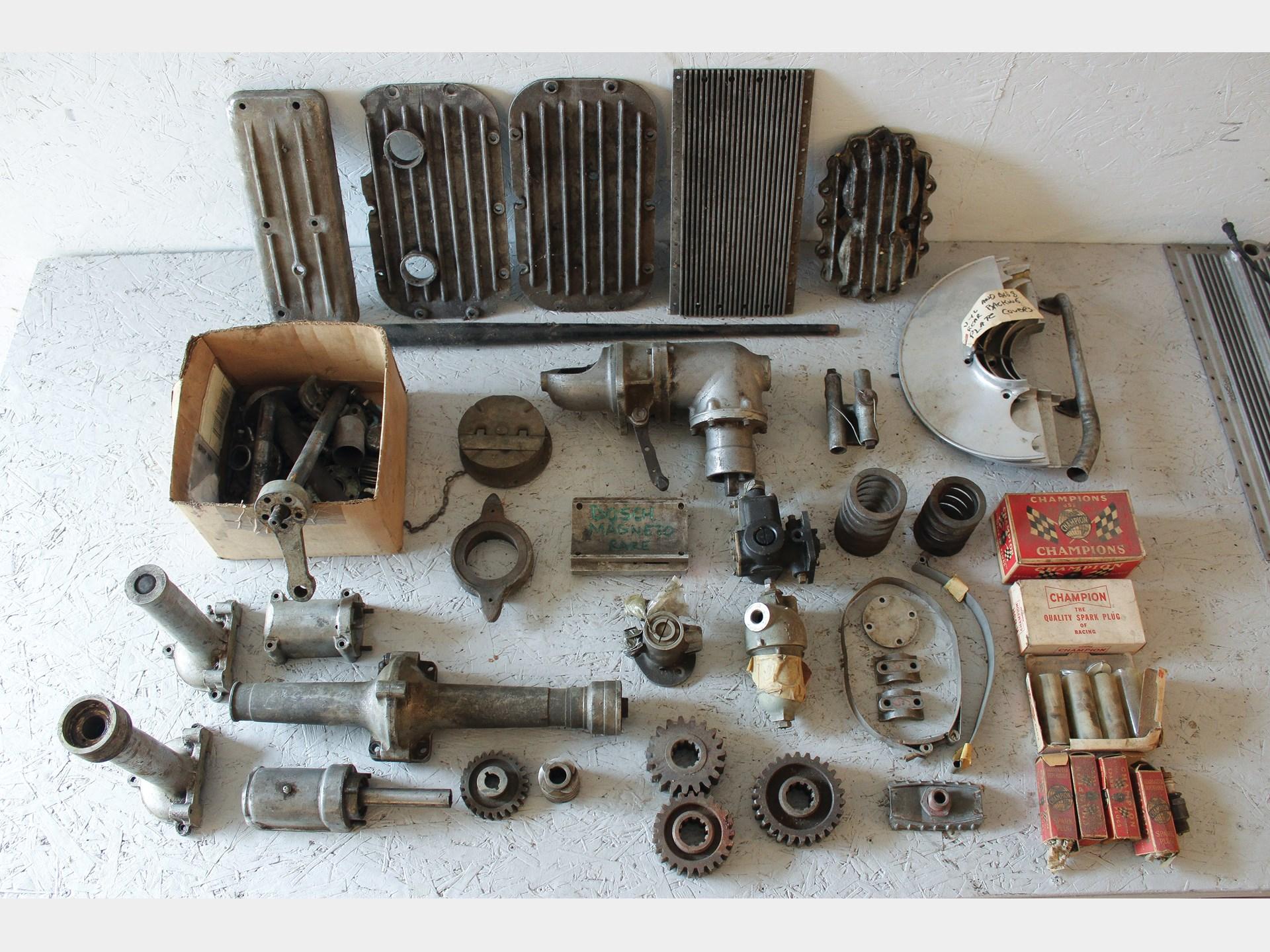 RM Sotheby\'s - Vintage Race Car Parts | Auburn Spring 2018