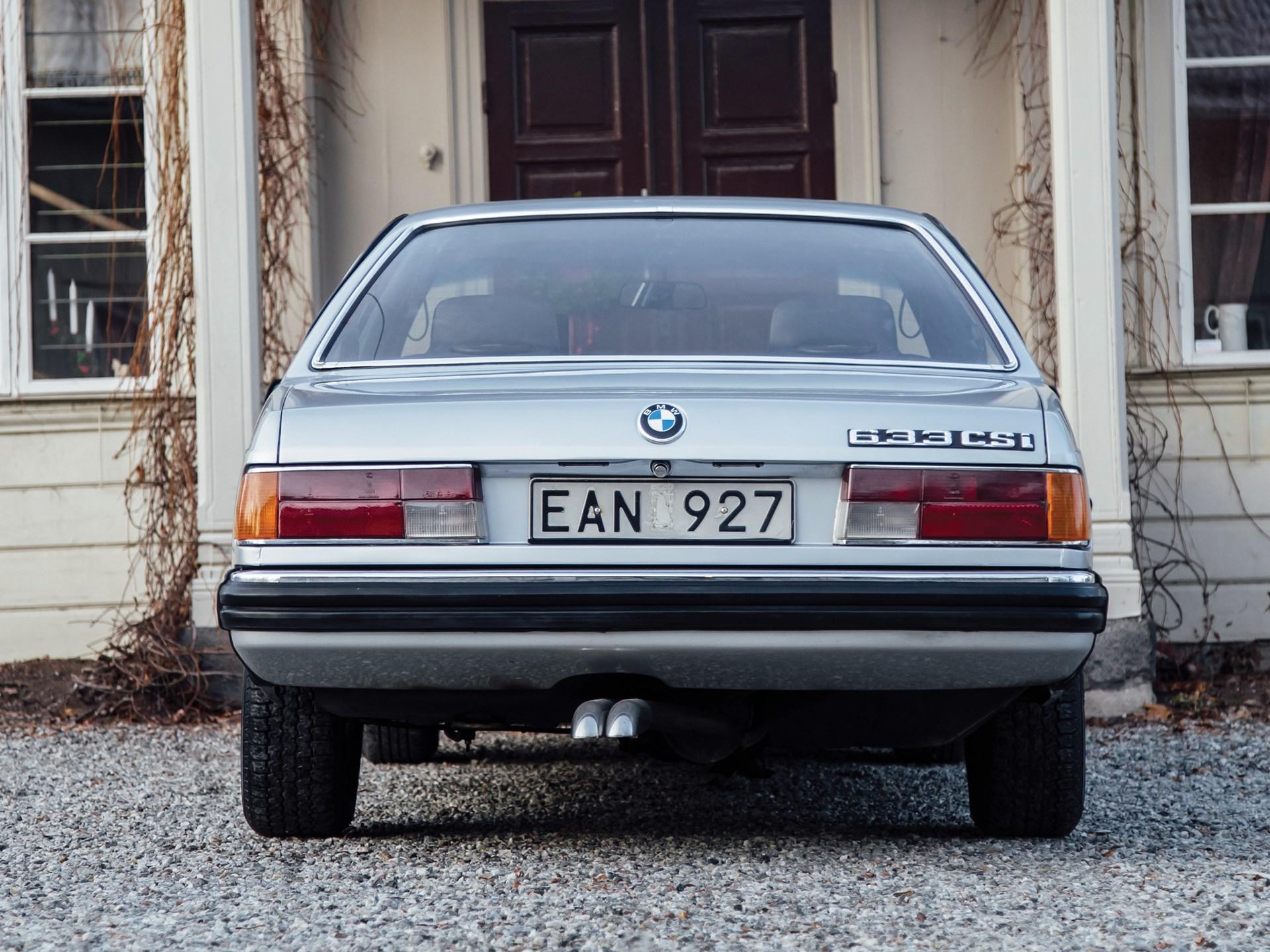 "1977 BMW 633 CSi "" ..."