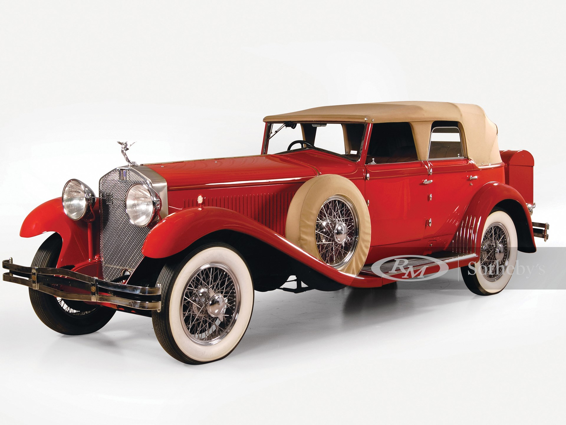 1930 Isotta-Fraschini 8A Convertible Sedan