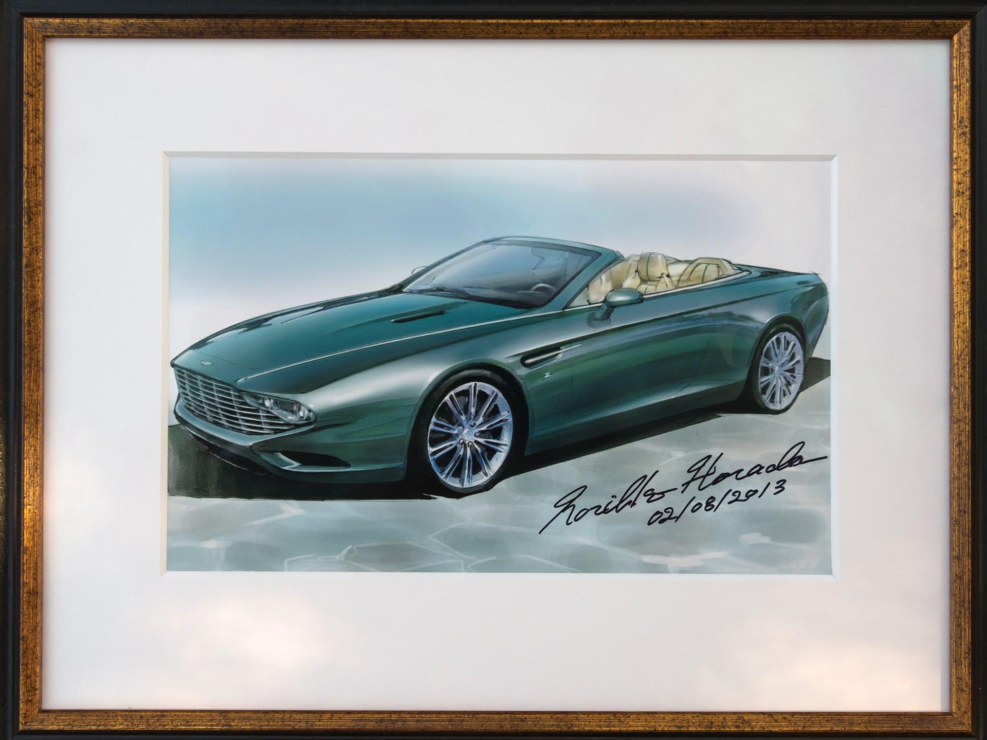 RM Sothebys Aston Martin Centennial DB Spyder Concept By - Aston martin dealership atlanta