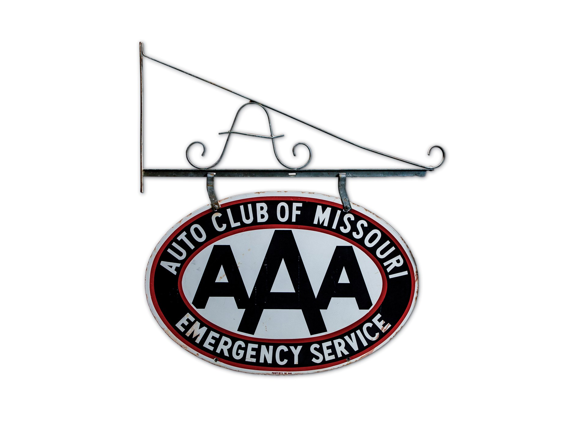 Aaa Auto Club Near Me >> Rm Sotheby S Aaa Auto Club Of Missouri Emergency Service Sign
