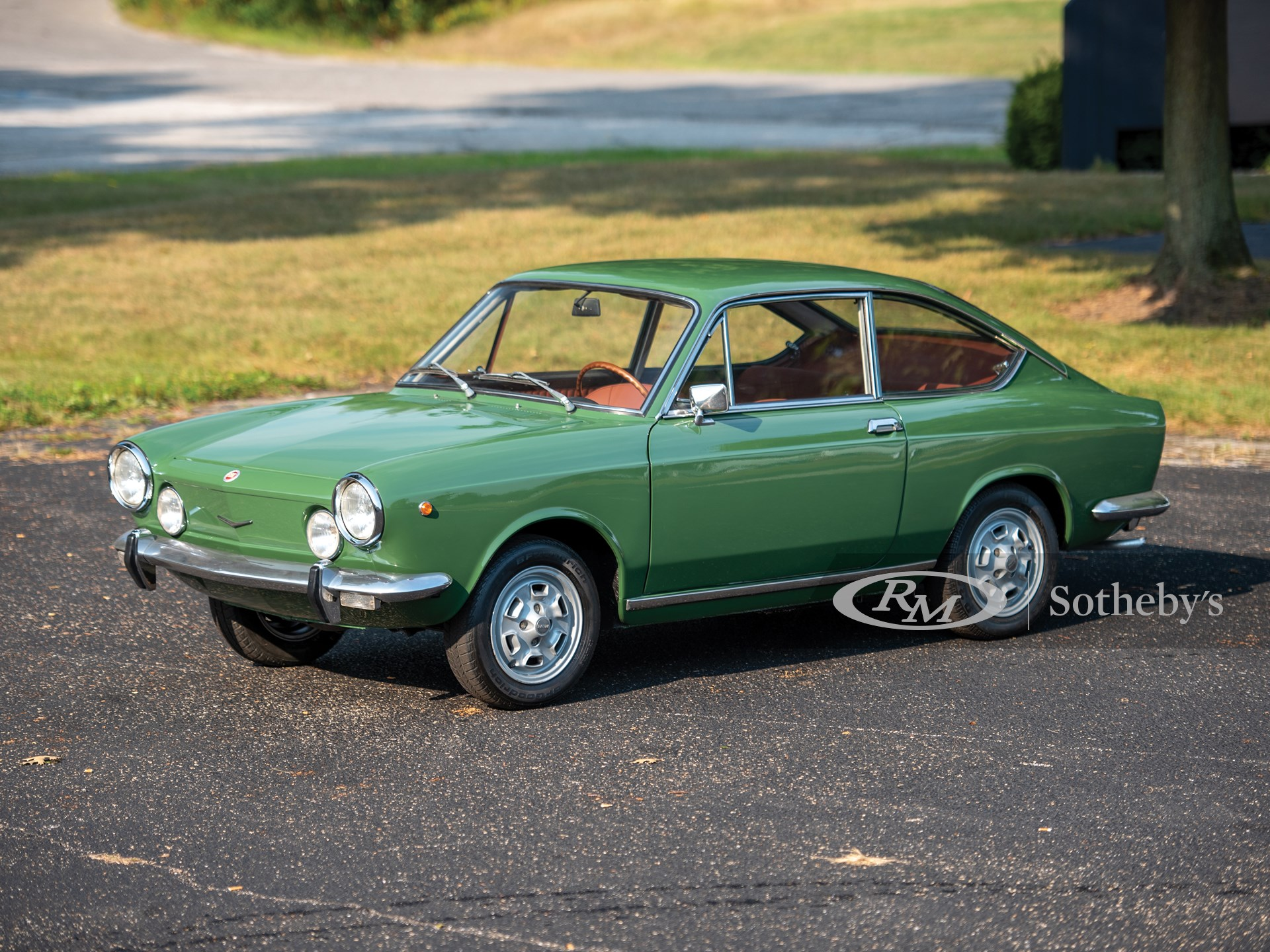 1970 Fiat 850 Sport Coupe The Elkhart Collection Rm Sotheby S