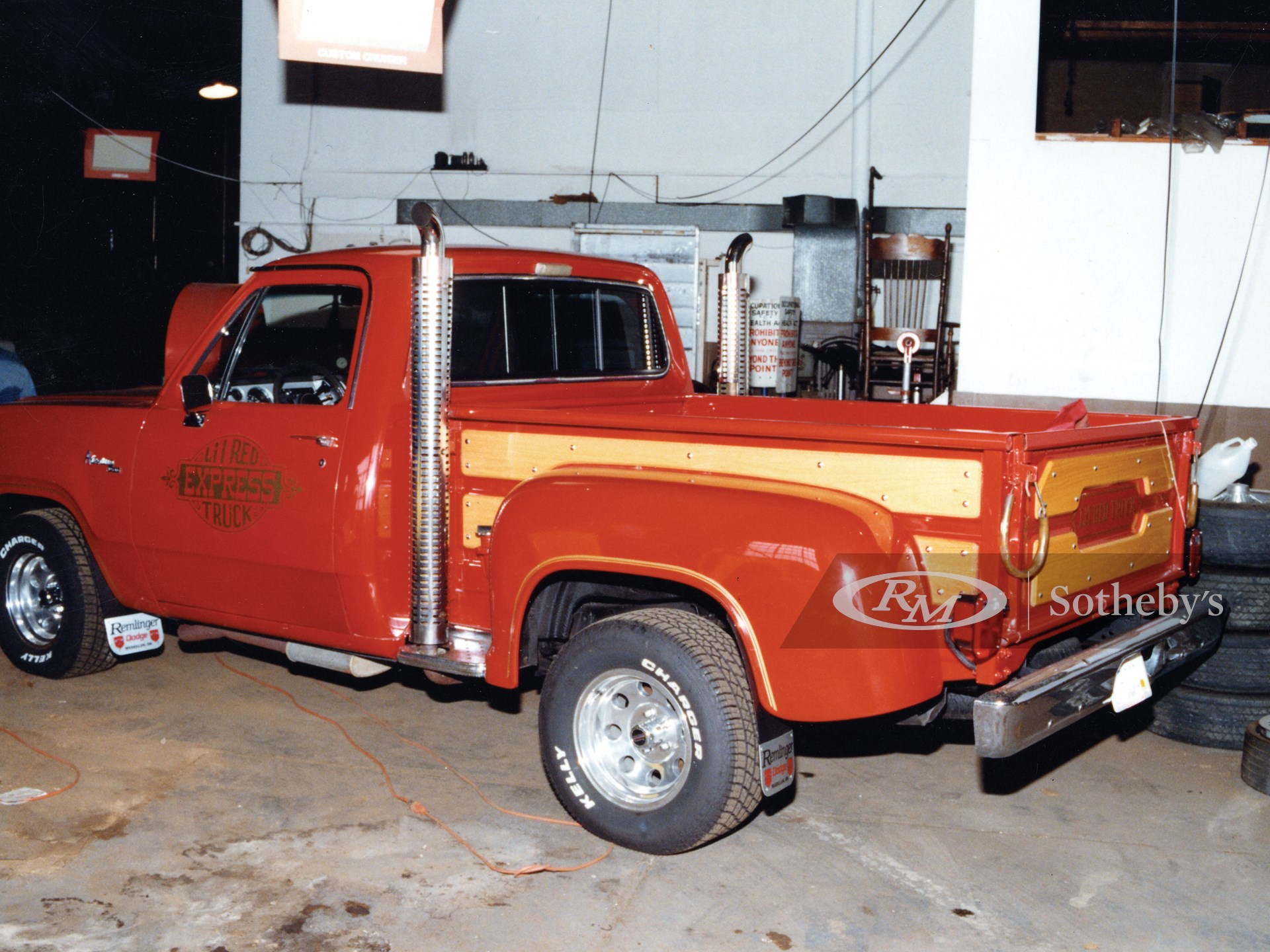 1979 Dodge 150 Pickup Lil' Red Express  -