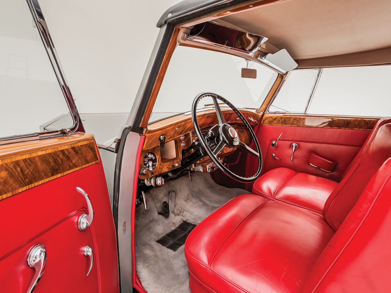 1956 Rolls-Royce Silver Wraith Drophead Coupe by Park Ward