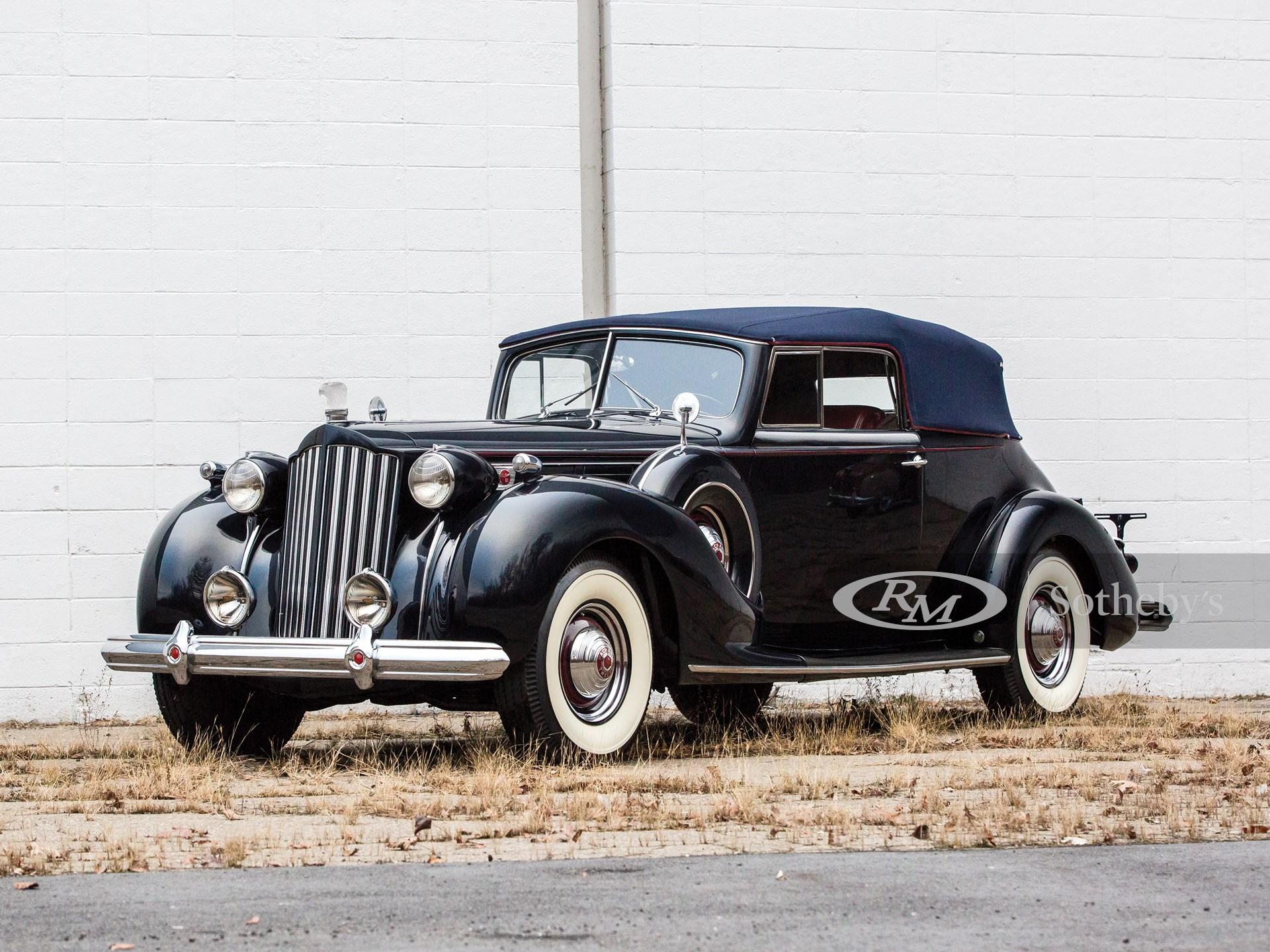 1939 Packard Twelve Convertible Victoria