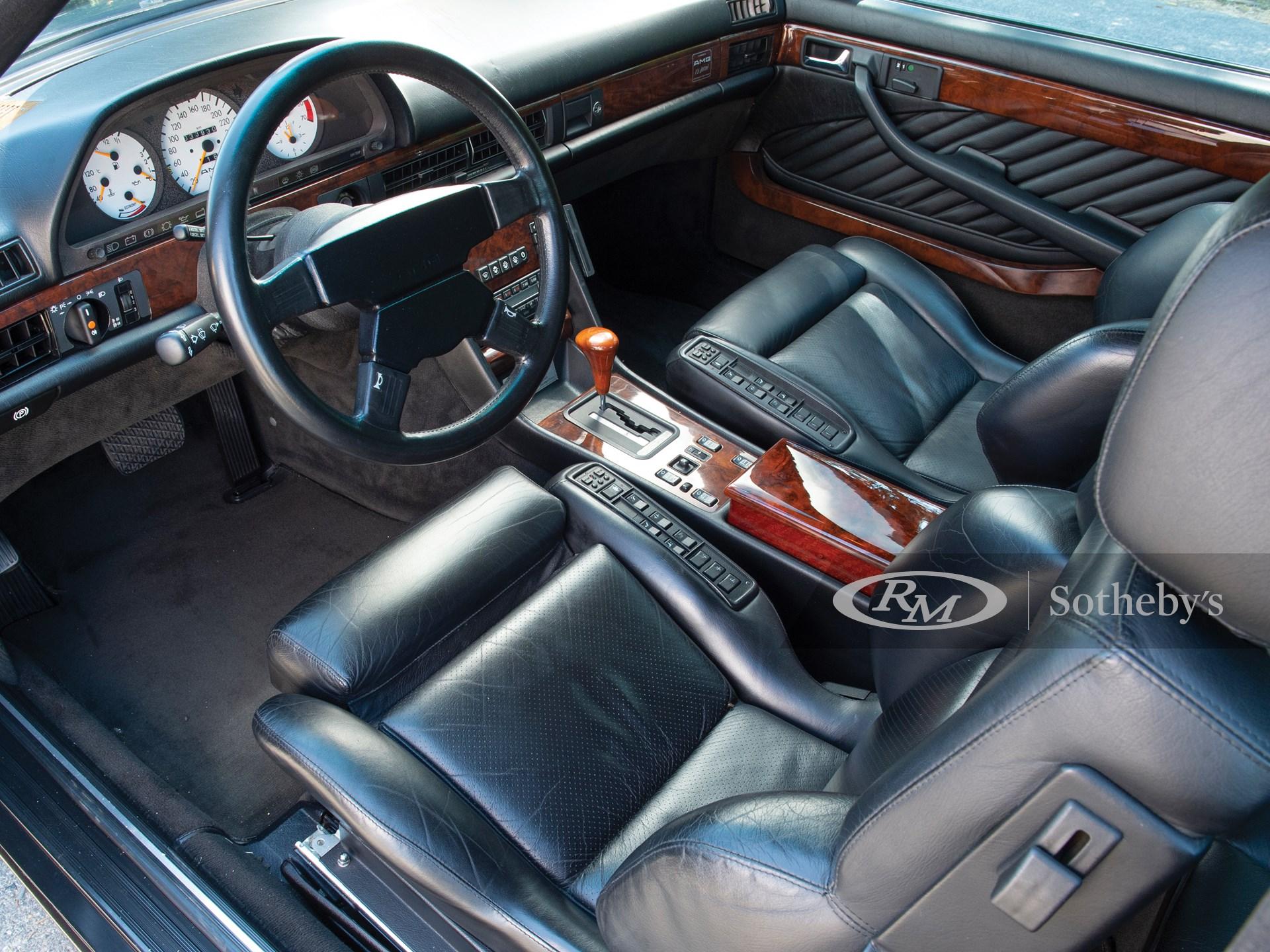 1991 Mercedes-Benz 560 SEC AMG 6.0 'Wide-Body'  -
