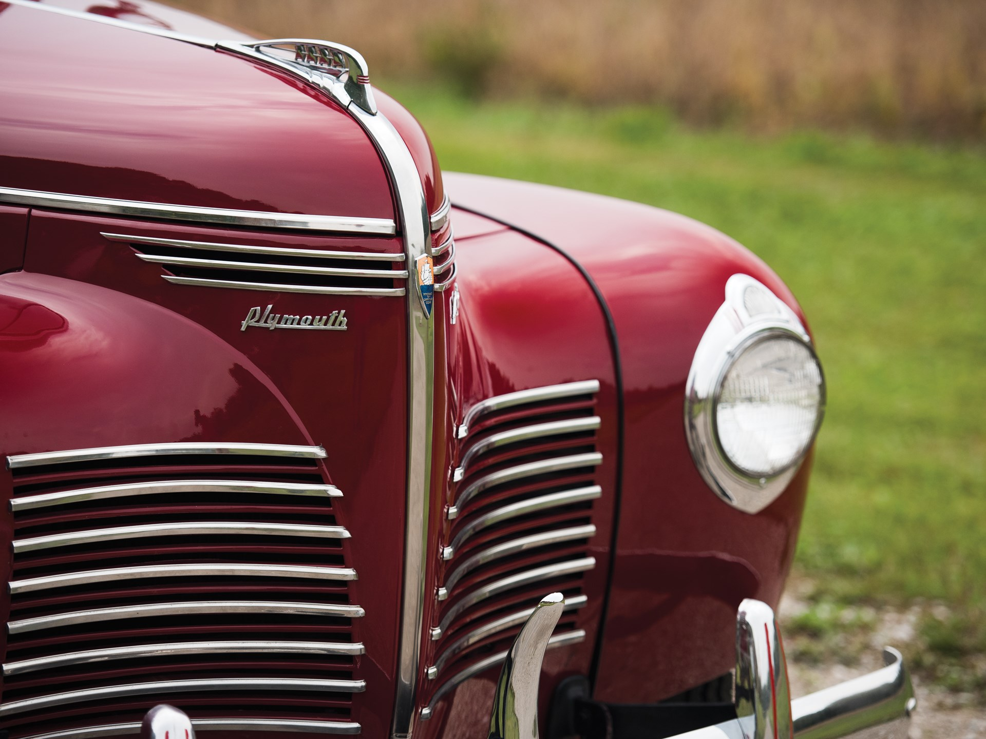 Rm Sothebys 1940 Plymouth Deluxe Station Wagon Hershey 2015 1941