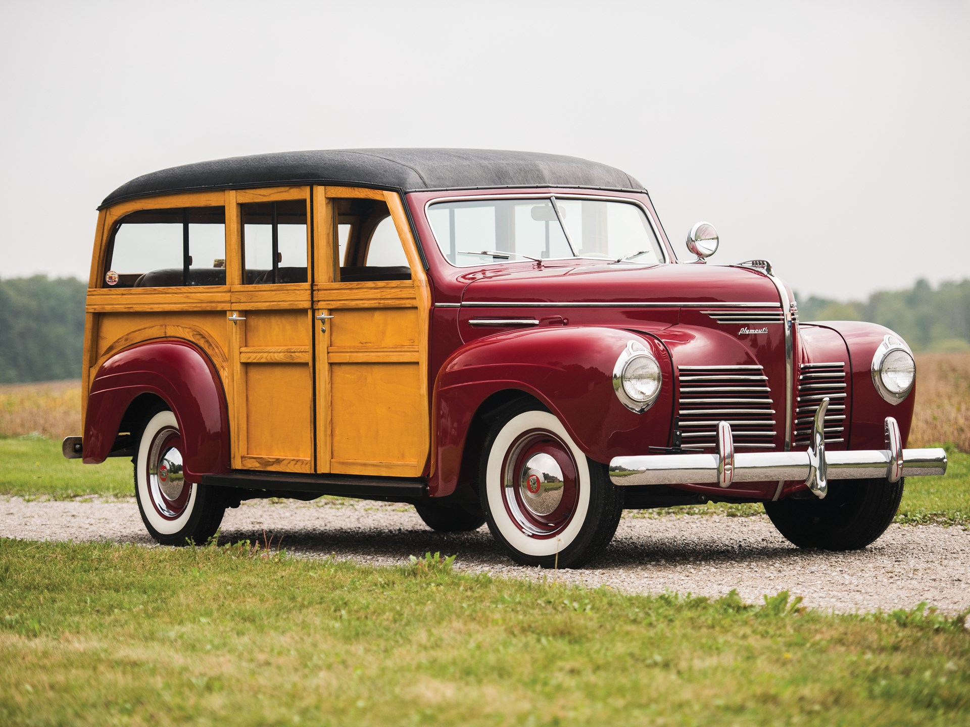 Rm Sothebys 1940 Plymouth Deluxe Station Wagon Hershey 2015 1941 Business Coupe