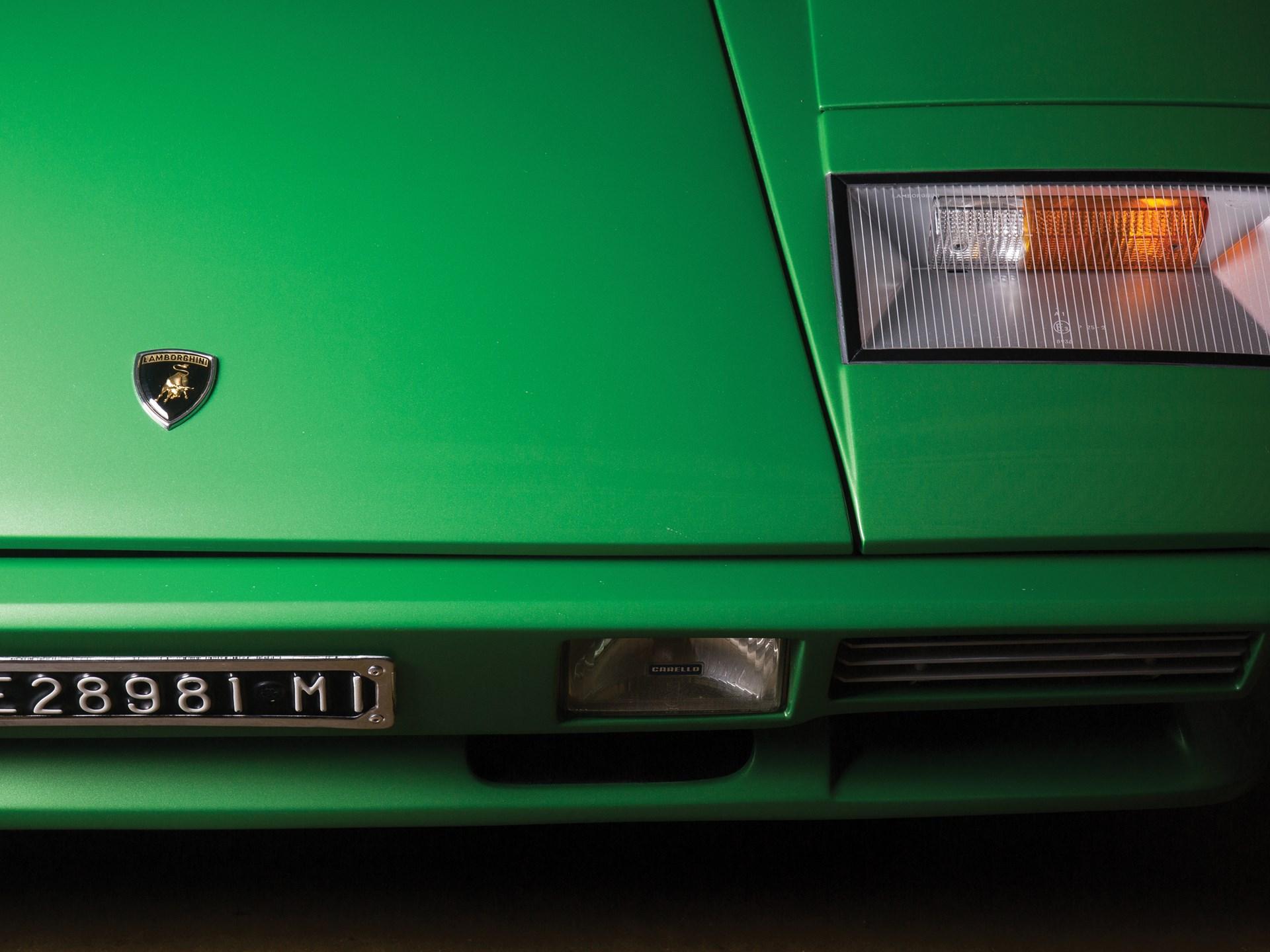 1981 Lamborghini Countach LP400 S Series III by Bertone