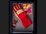 Jacques Villeneuve Race Worn and Signed Gloves - $