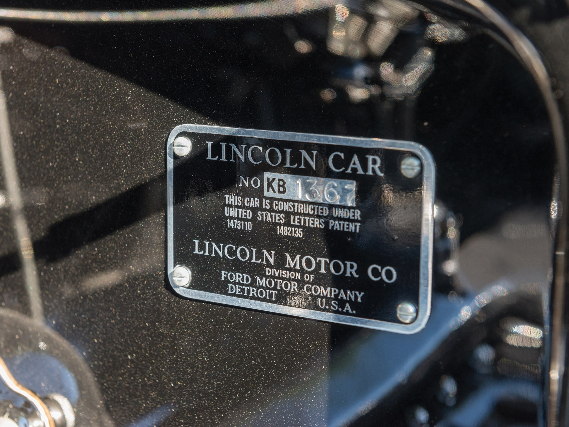 1932 Lincoln KB Dual-Windshield Phaeton in the style of Brunn