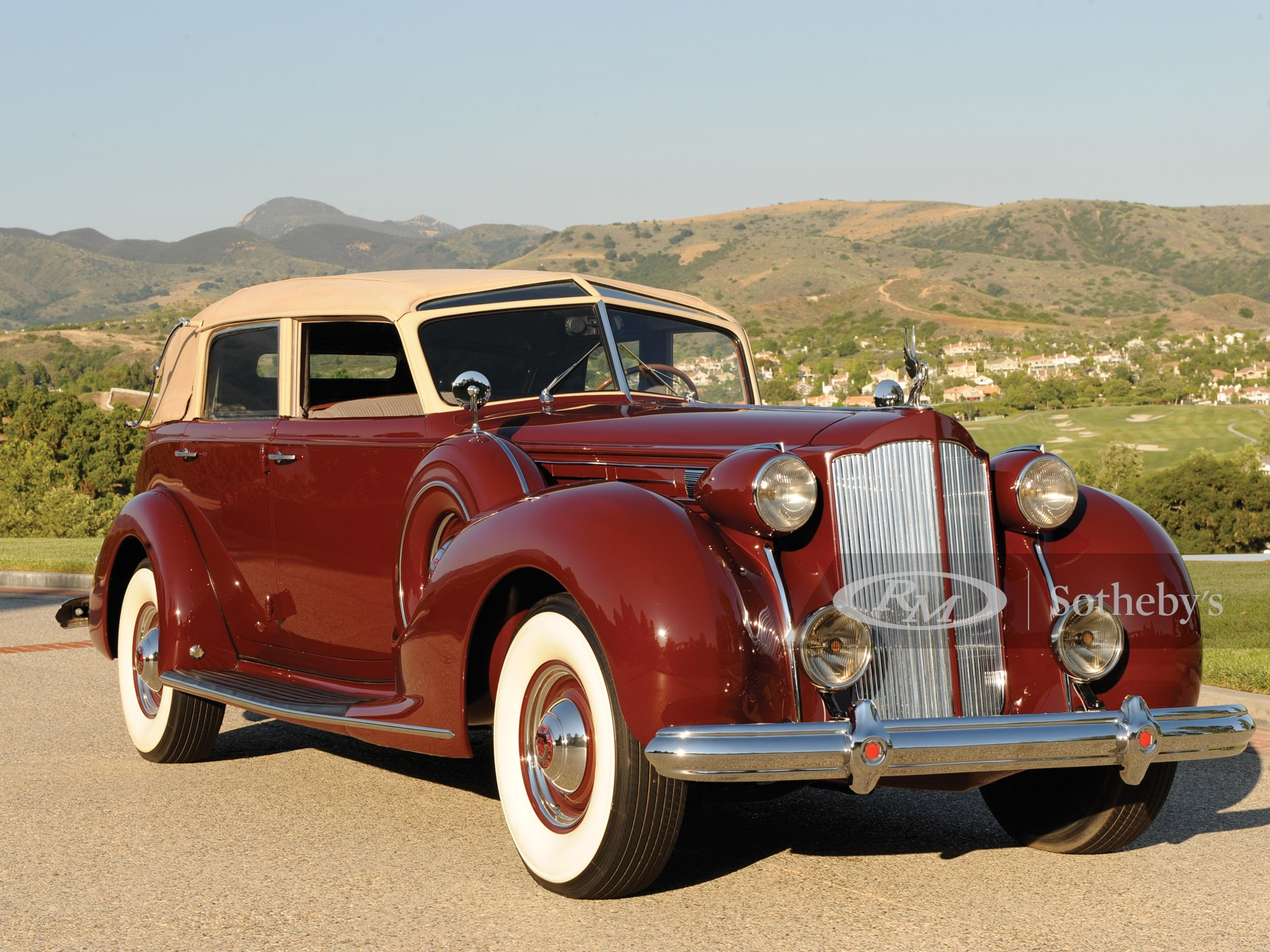 1938 Packard Twelve Collapsible Touring Cabriolet
