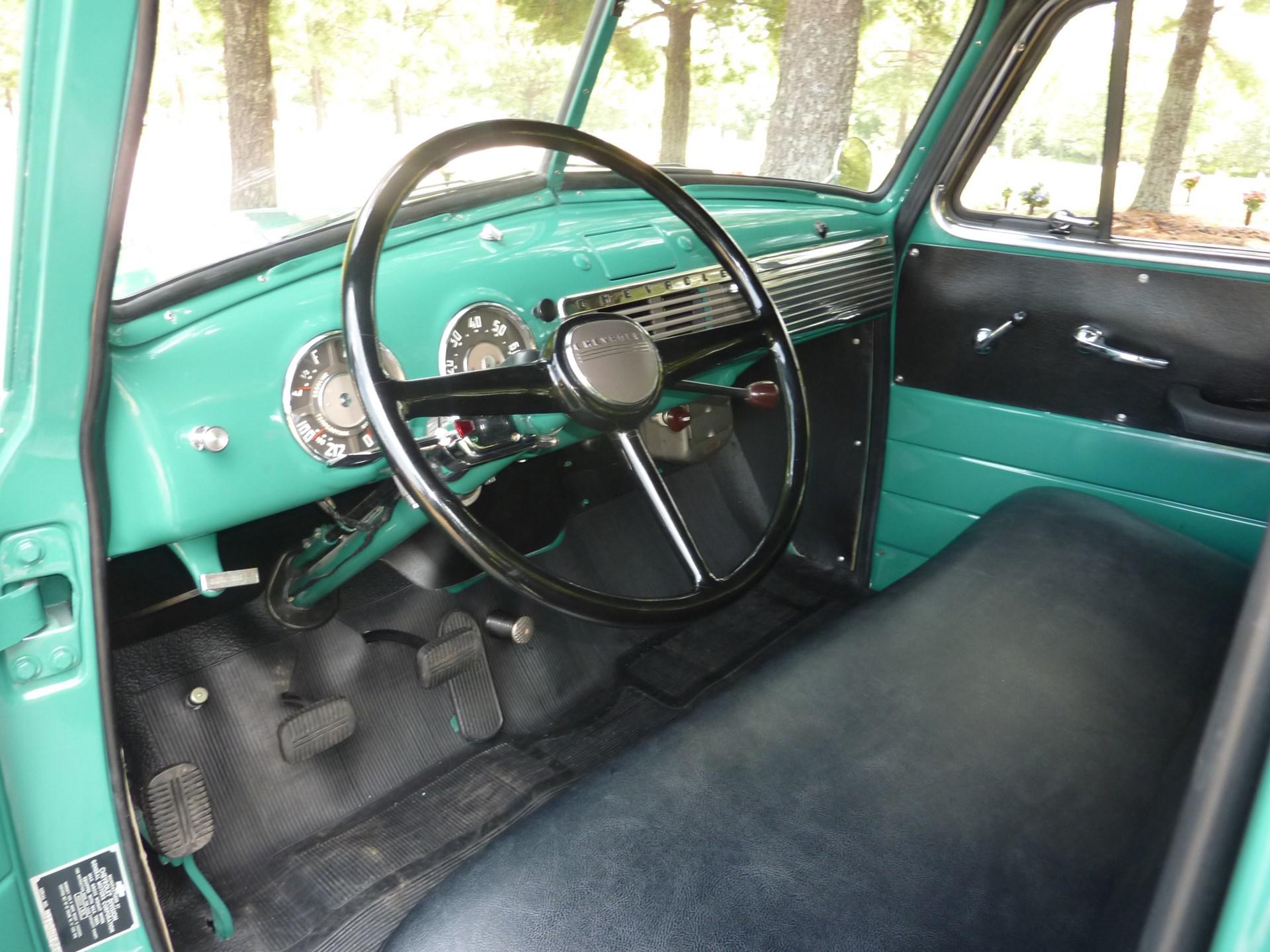 Rm Sothebys 1951 Chevrolet 3100 5 Window Pickup Truck Amelia Chevy