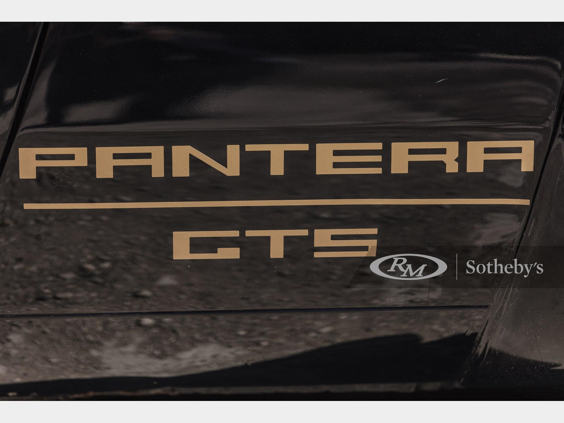 1984 De Tomaso Pantera GT5  -