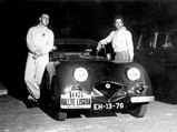1947 HRG Aerodynamic by Fox & Nicholl - $The HRG as seen during the 1950 Lisbon International Rallye.