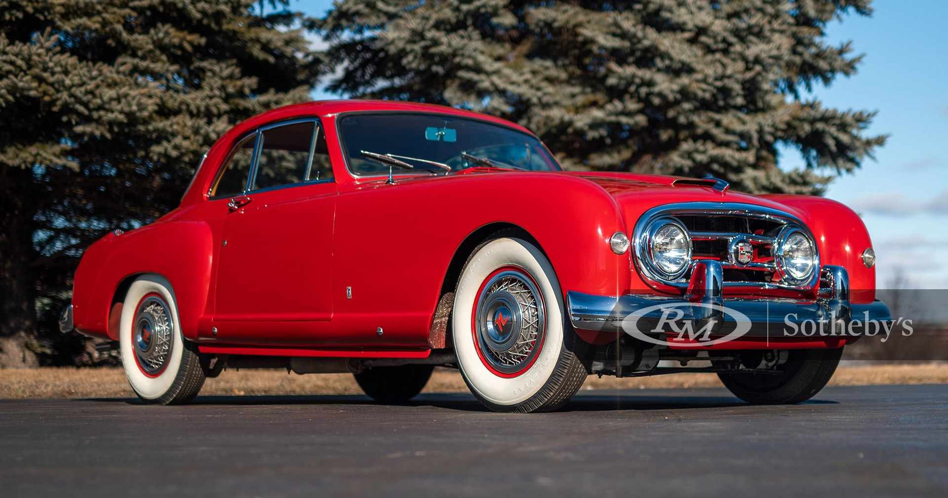 1953 Nash-Healey Le Mans Coupe by Pinin Farina available at RM Sotheby's Online Only Open Roads April Auction 2021