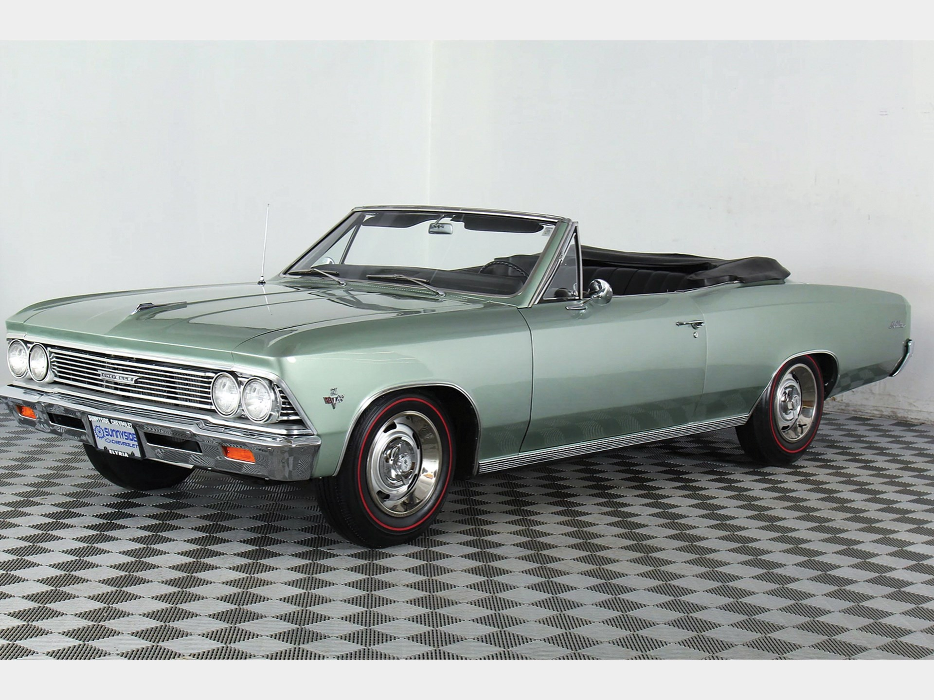 Rm Sothebys 1966 Chevrolet Malibu Convertible Auburn Fall 2018 Bel Air Value