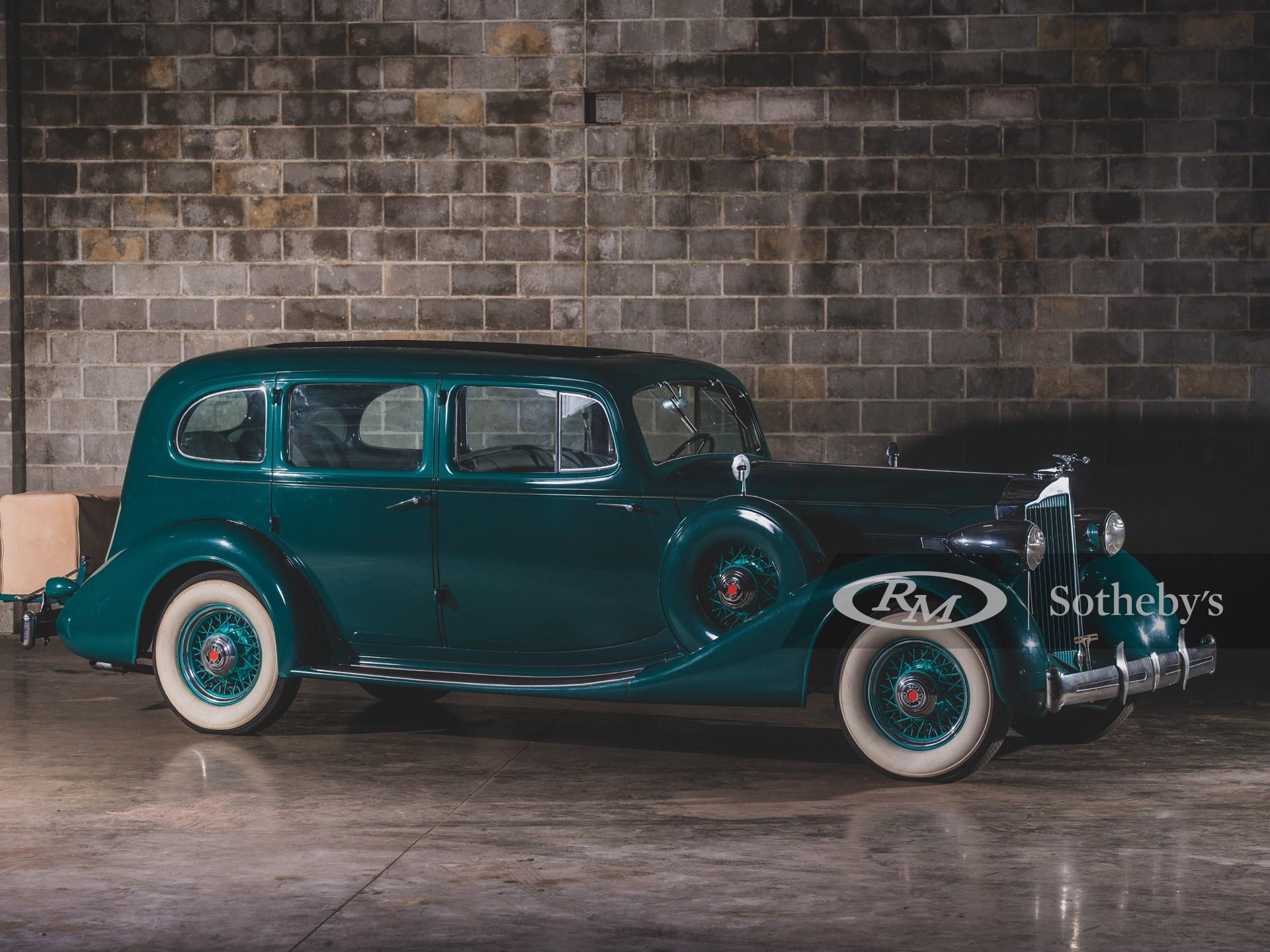 1935 Packard Eight Seven-Passenger Business Sedan