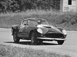 1957 Ferrari 250 GT Berlinetta Competizione 'Tour de France' by Scaglietti - $Wolfgang Seidel behind the wheel of 0879 GT at the 1959 Gran Premio della Lotteria di Monza.