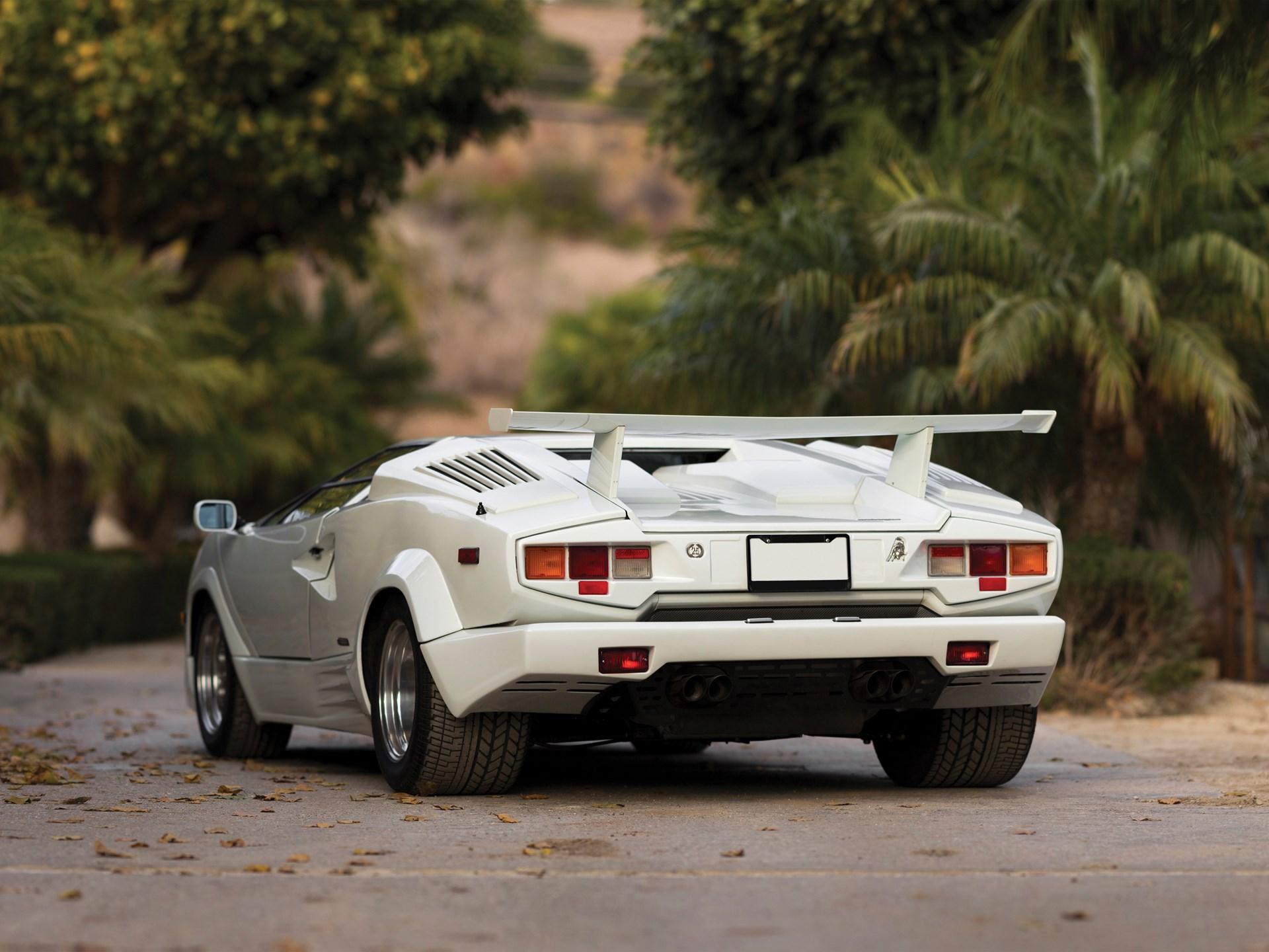 RM Sotheby\'s - 1989 Lamborghini Countach 25th Anniversary | New York ...