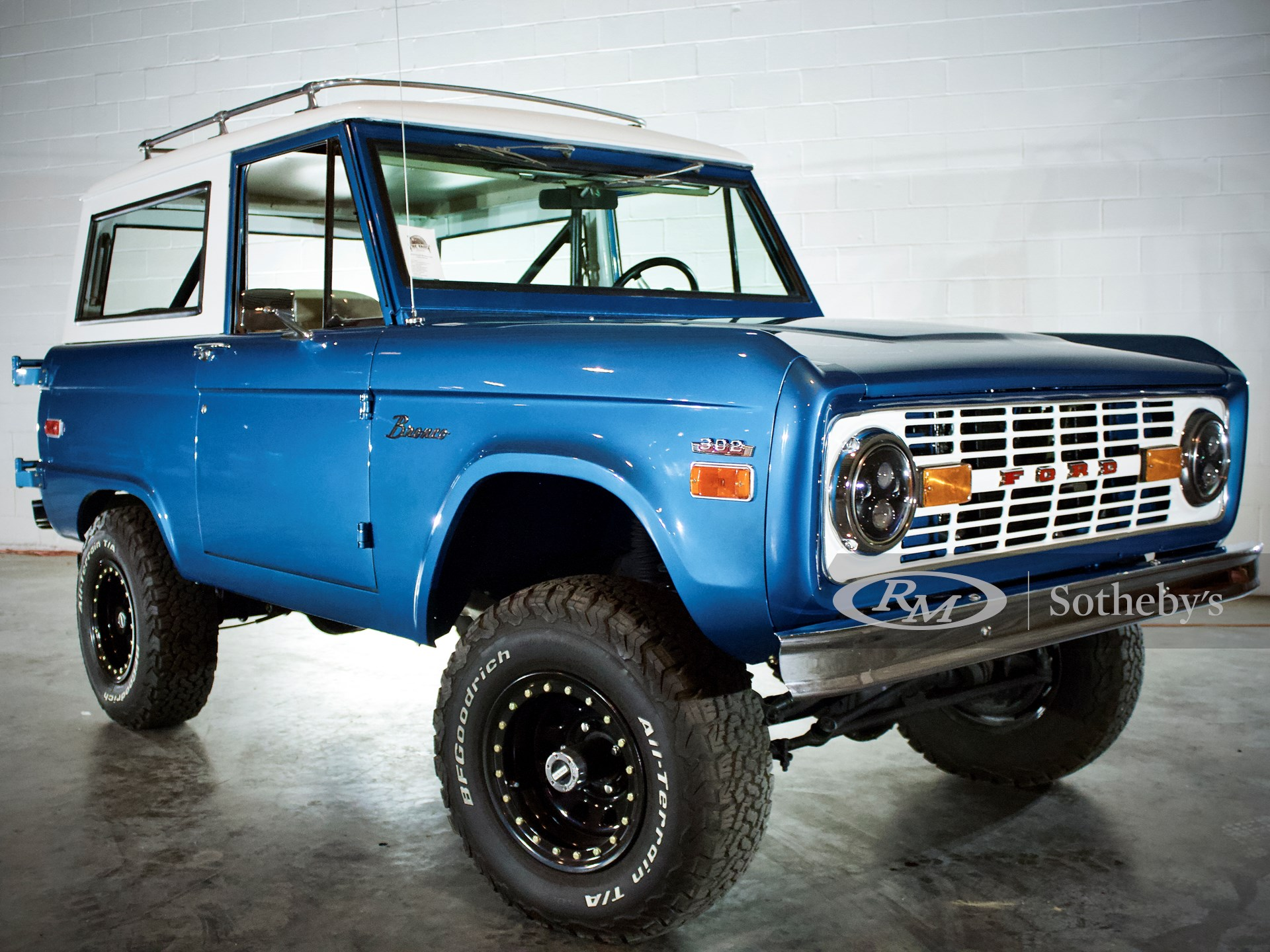 1970 Ford Bronco Wagon Driving Into Summer Rm Online Only