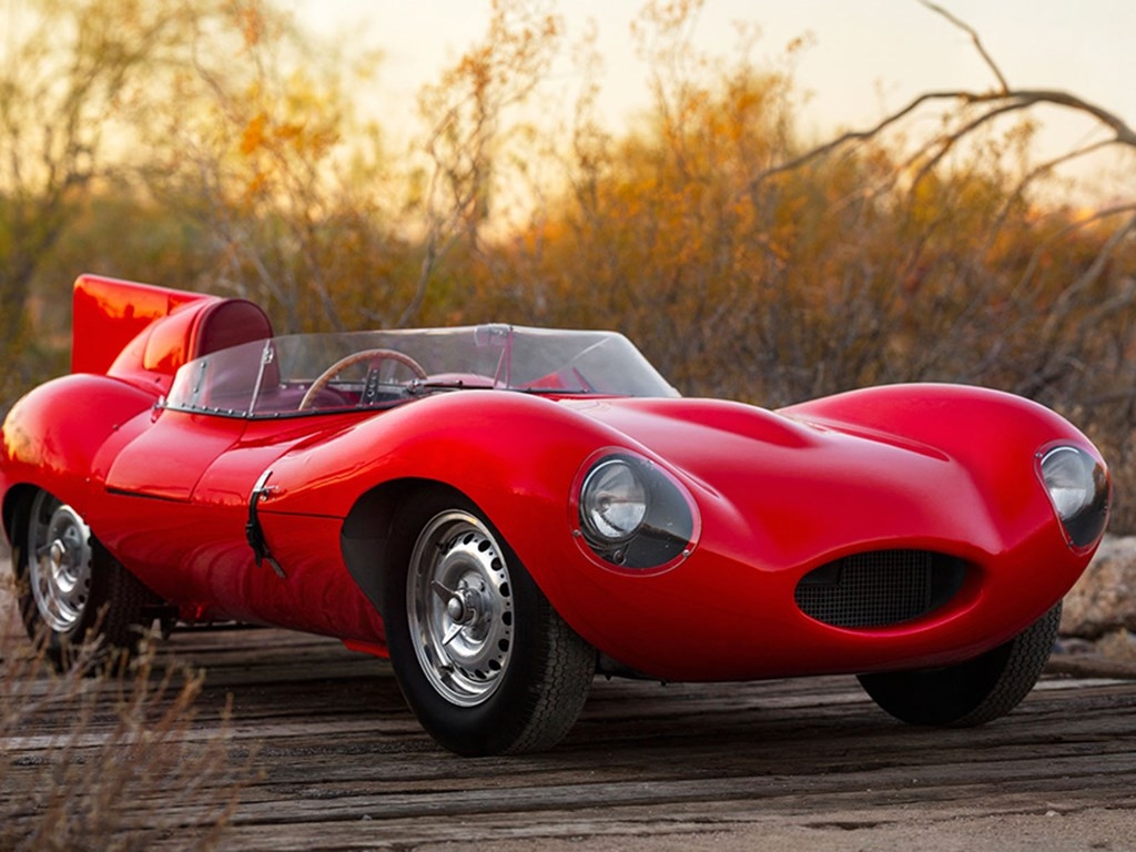 1955 Jaguar DType offered at RM Sothebys Arizona Live Auction 2021