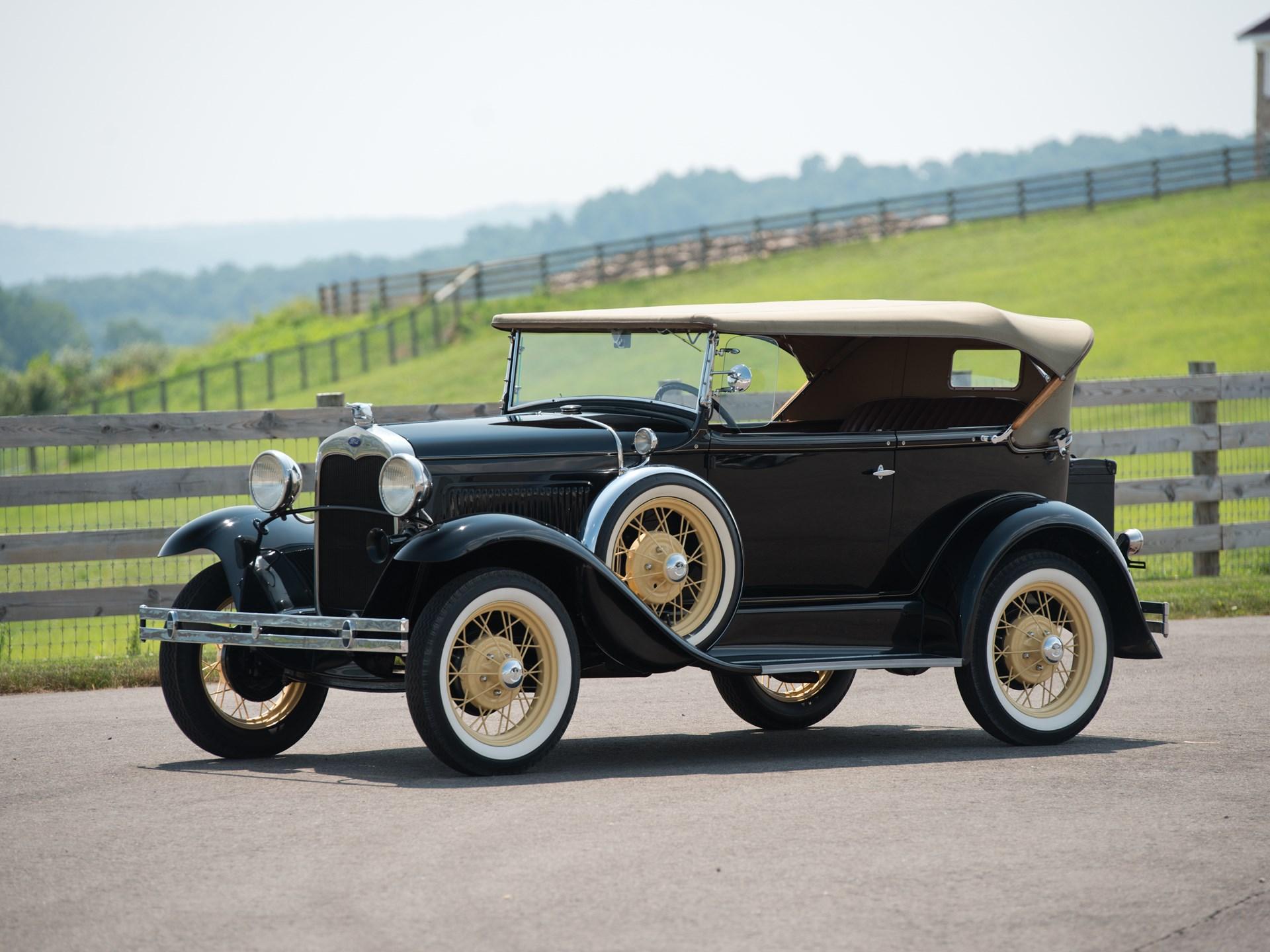 1930 ford model a deluxe phaeton