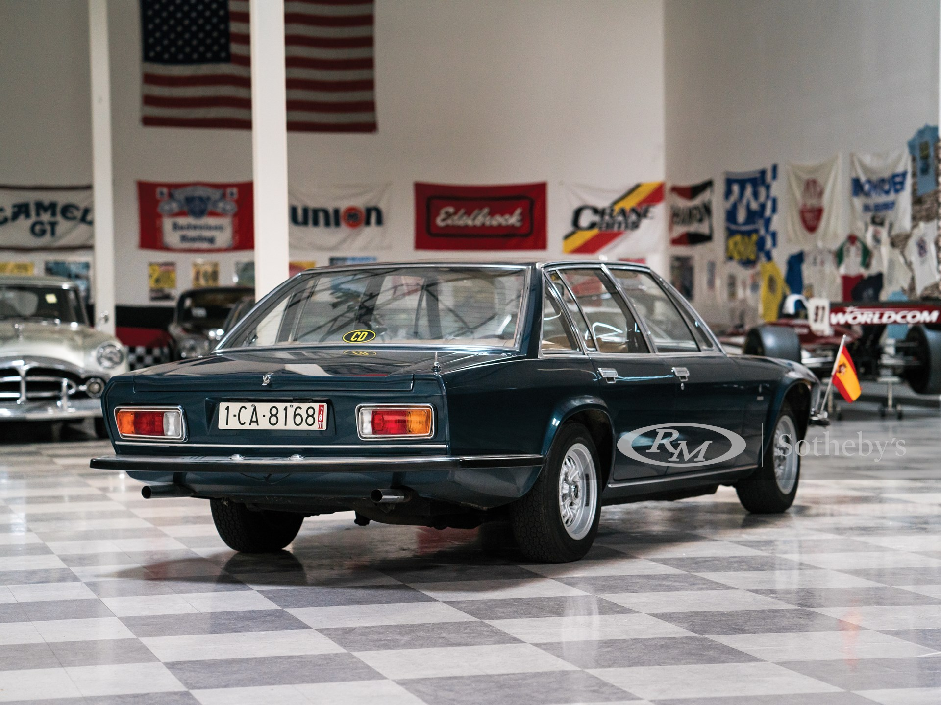 1971 Maserati Quattroporte Prototipo by Frua -
