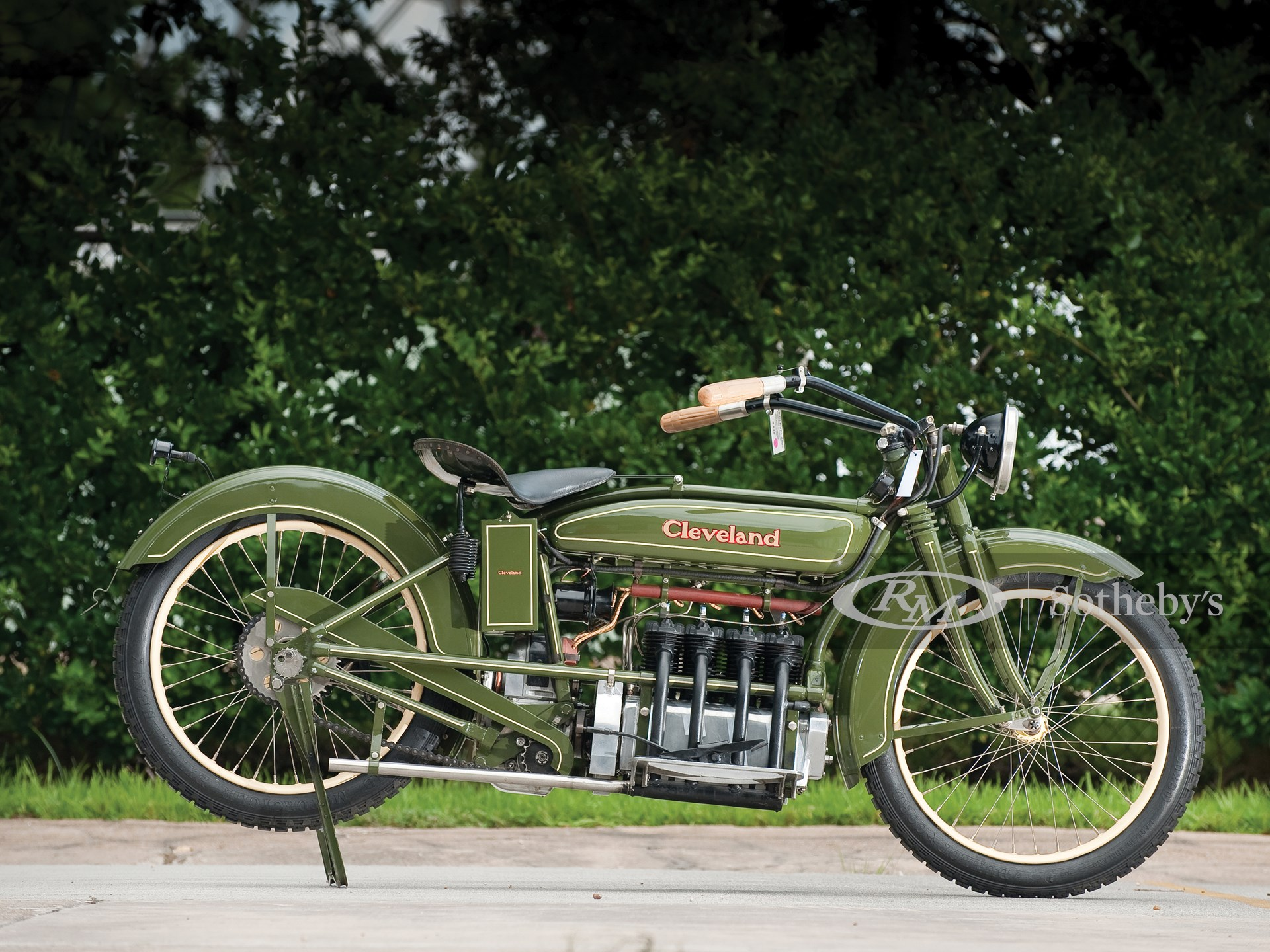 1926 Cleveland Fowler Four Motorcycle