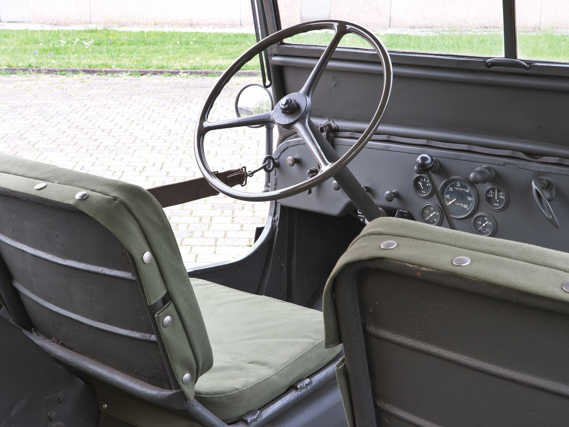 Rm Sothebys 1942 Ford Gpw Military Jeep Monaco 2016 1951 Cars For Sale