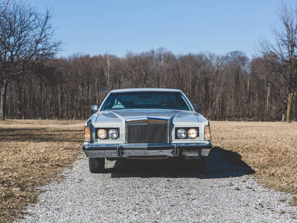 1977 Lincoln Continental Mark V Cartier Edition