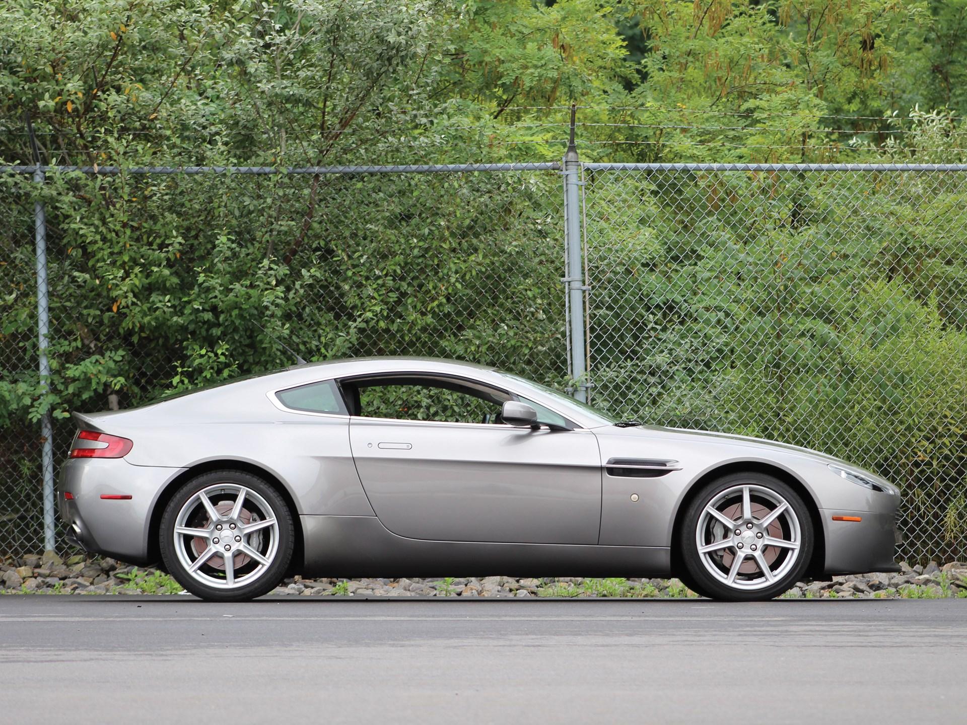 RM Sothebys Aston Martin Vantage Coupe Auburn Fall - Aston martin 2007
