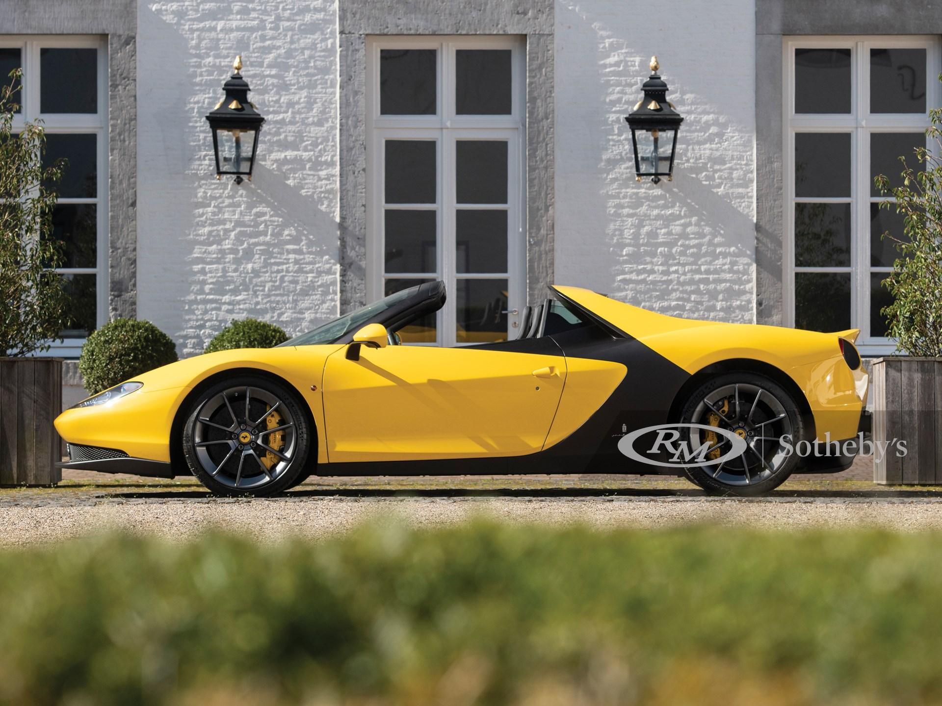 2015 Ferrari Sergio by Pininfarina -