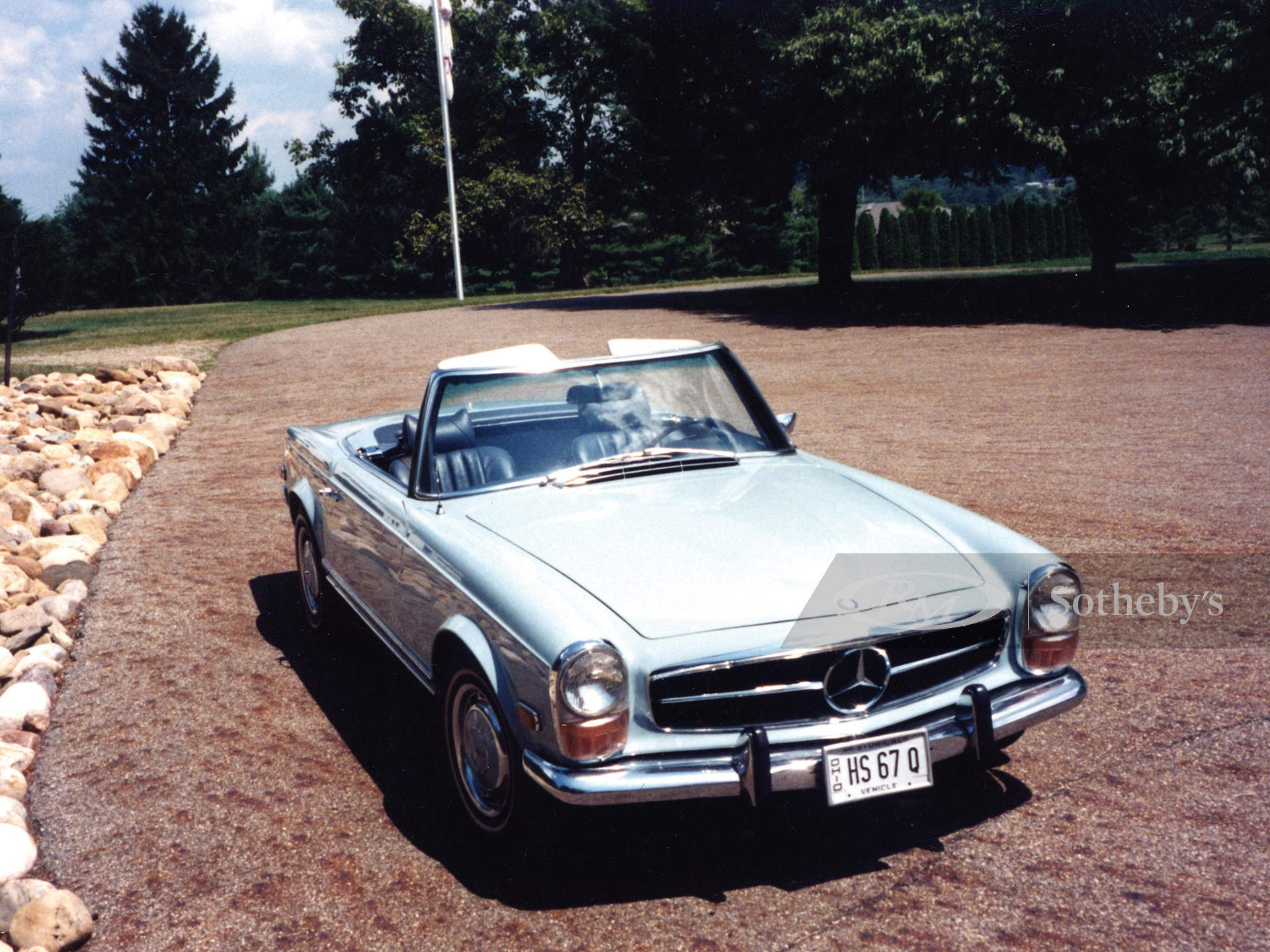 1970 Mercedes-Benz 280 SL Roadster  -