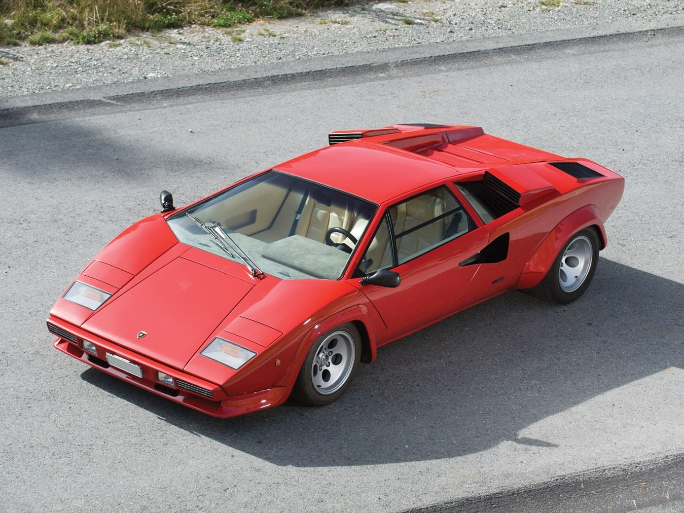 Rm Sotheby S R124 1981 Lamborghini Countach Lp 400s