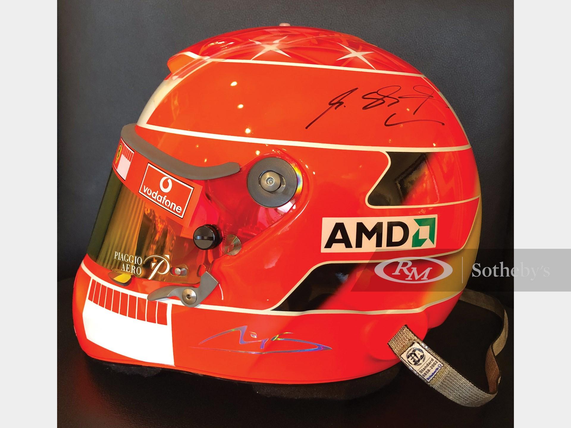 Michael Schumacher Ferrari Formula 1 Helmet, 2005 -