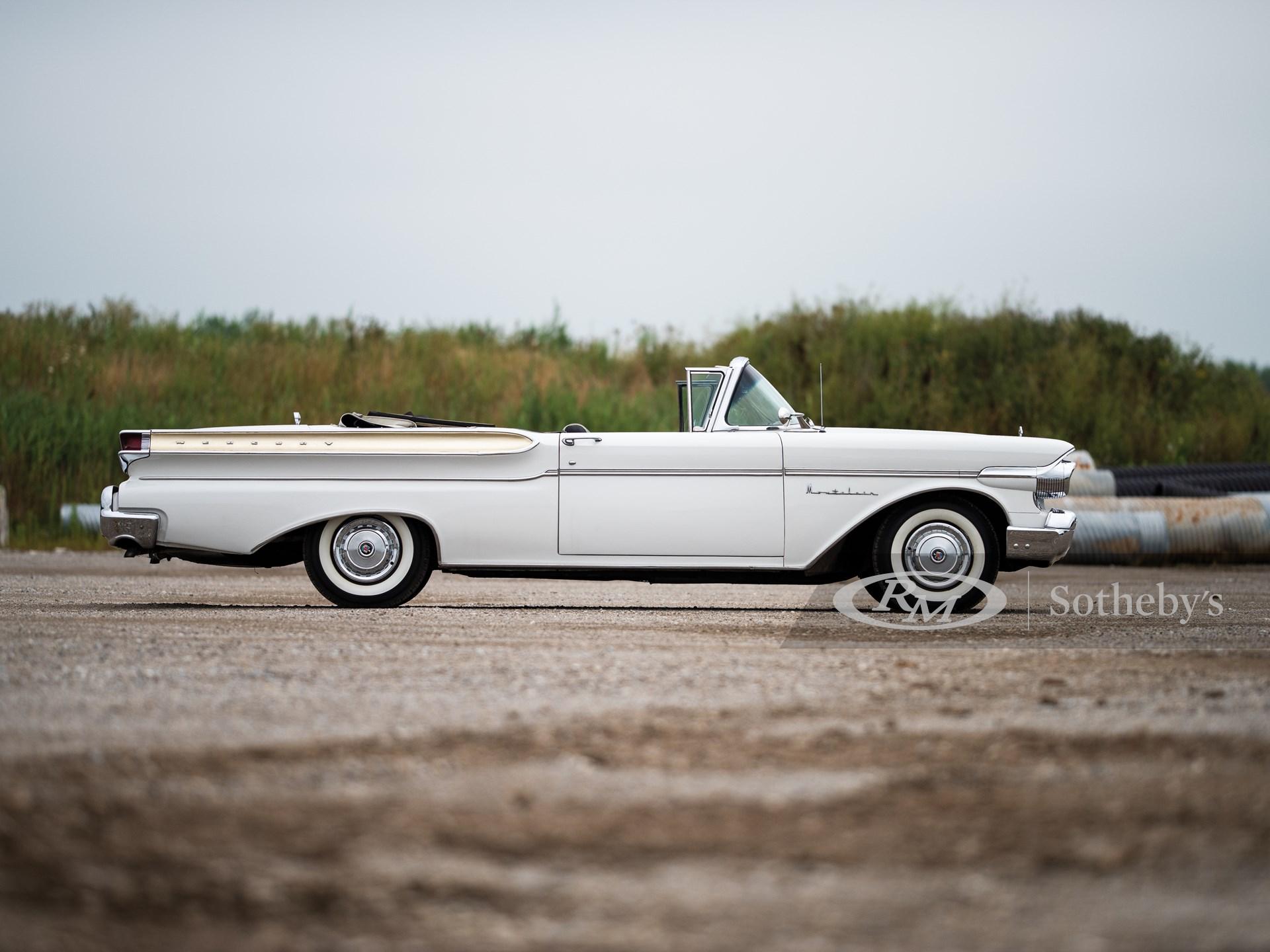 1957 Mercury Montclair Convertible  -
