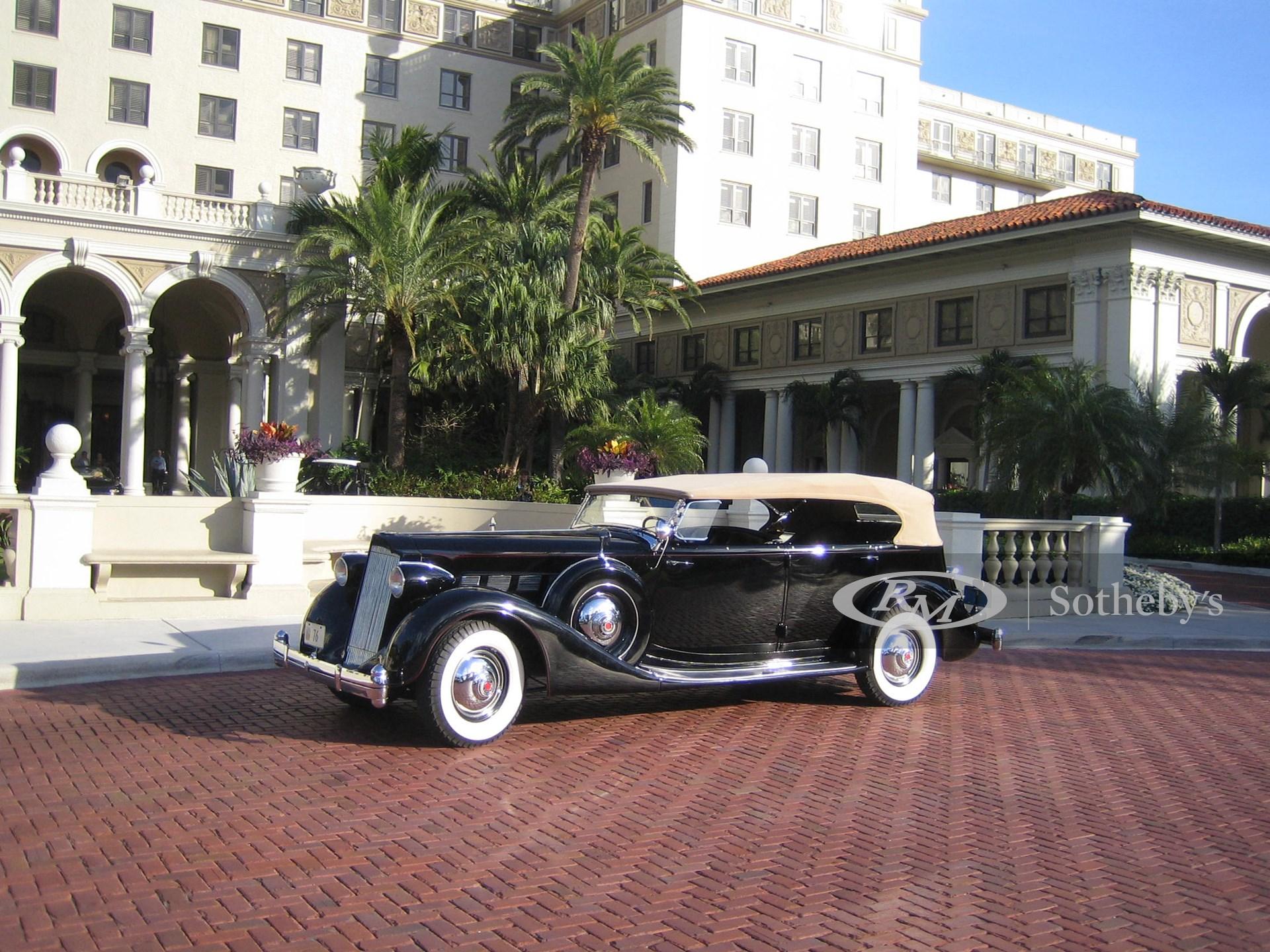 1936 Packard Super 8 Seven-Passenger Phaeton