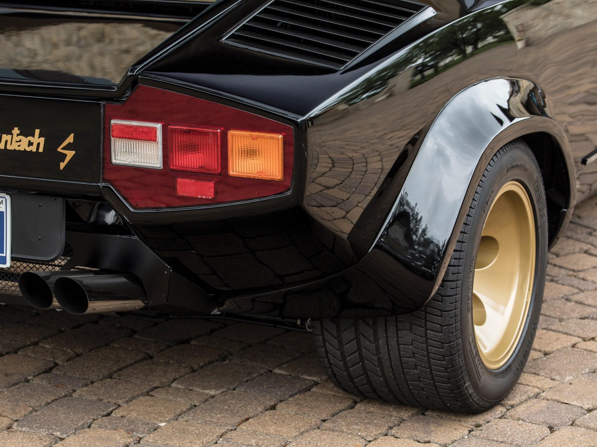 RM Sotheby's - 1984 Lamborghini Countach LP500 S by Bertone