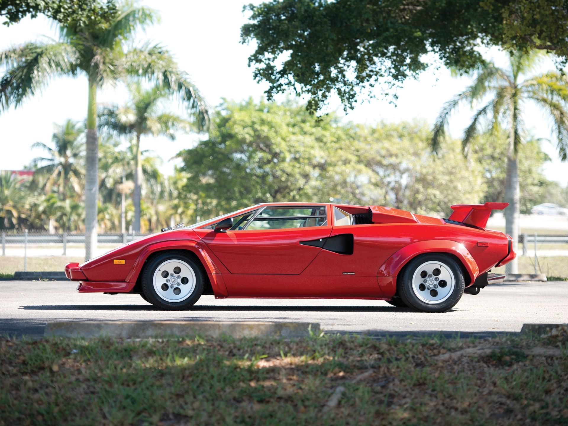 Rm Sotheby S 1986 Lamborghini Countach 5000 Quattrovalvole