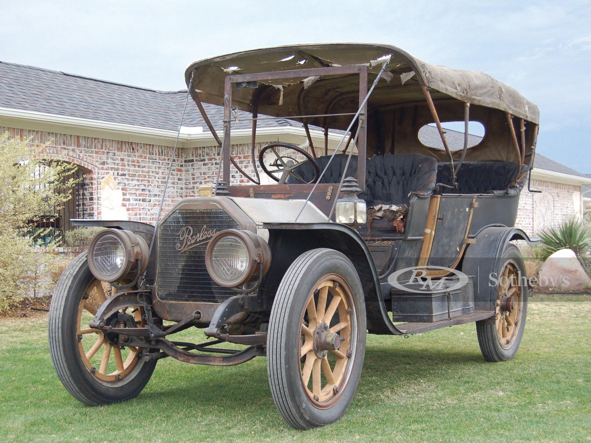 1909 Peerless Model 19 Touring Car