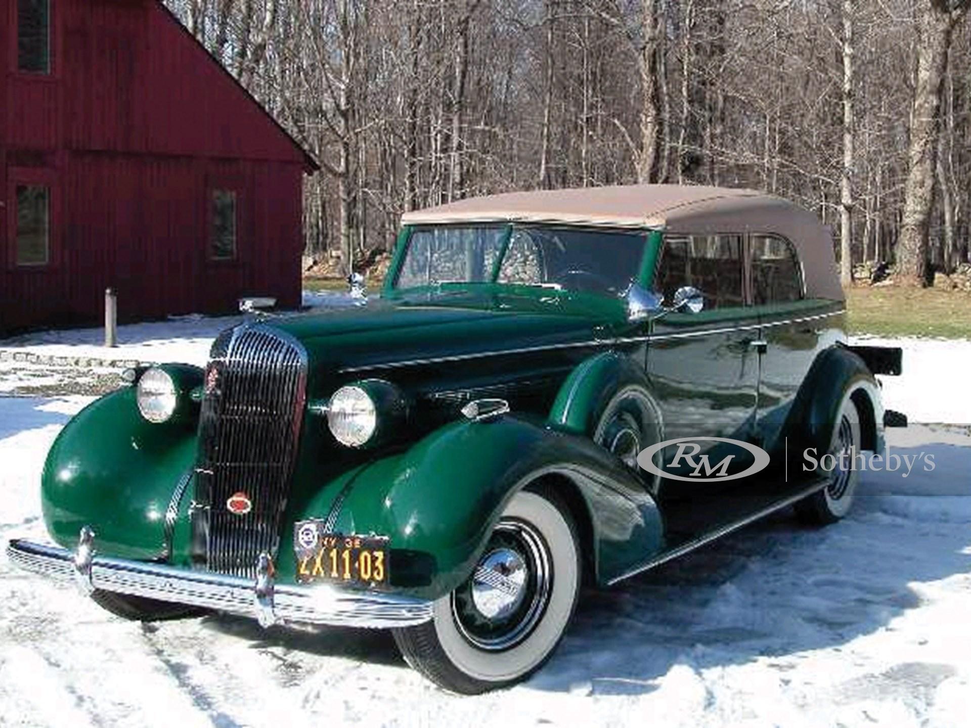 1936 Buick 80C Roadmaster Convertible Sedan  -