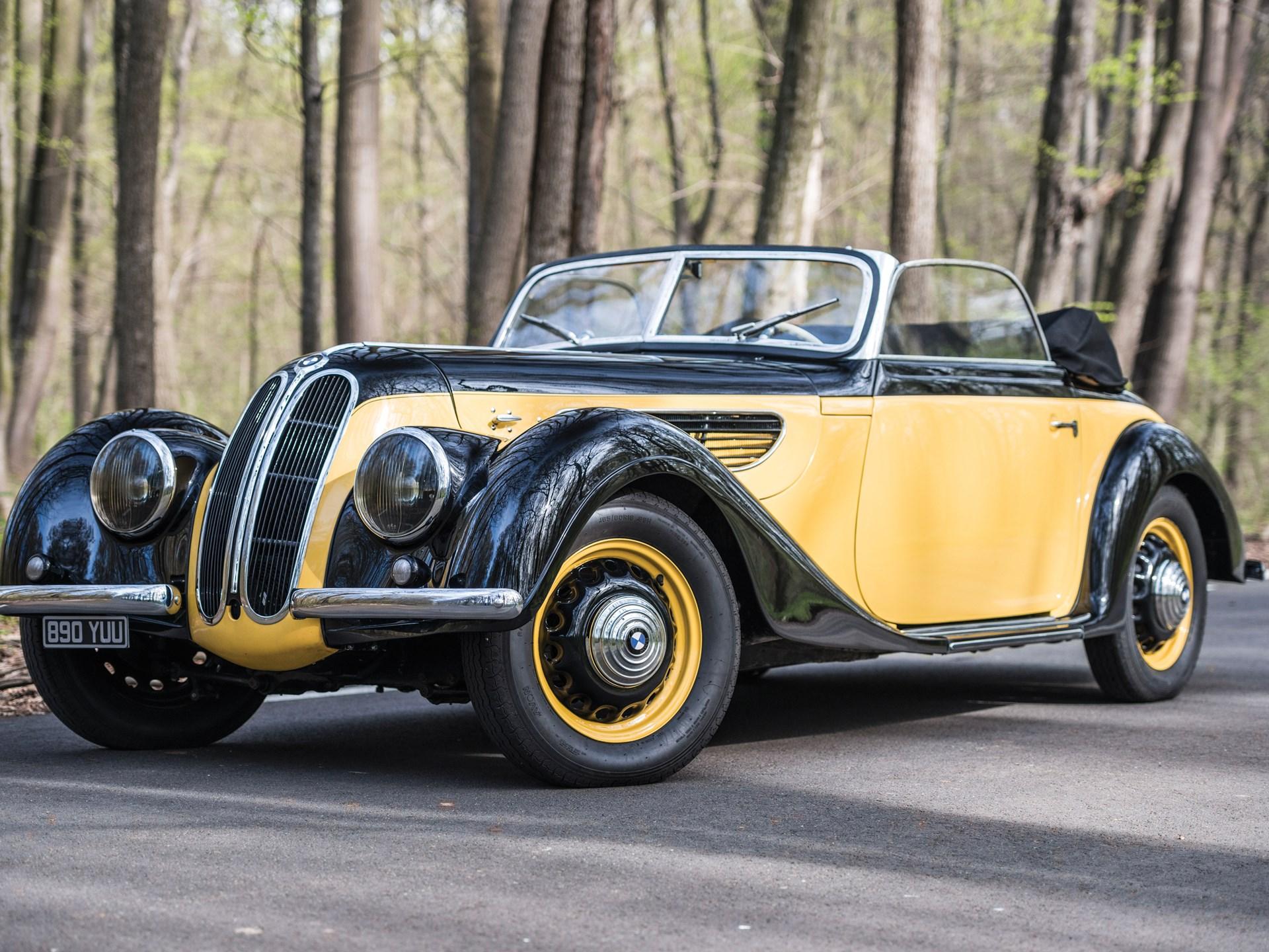 1938 BMW 327 Sport Cabriolet