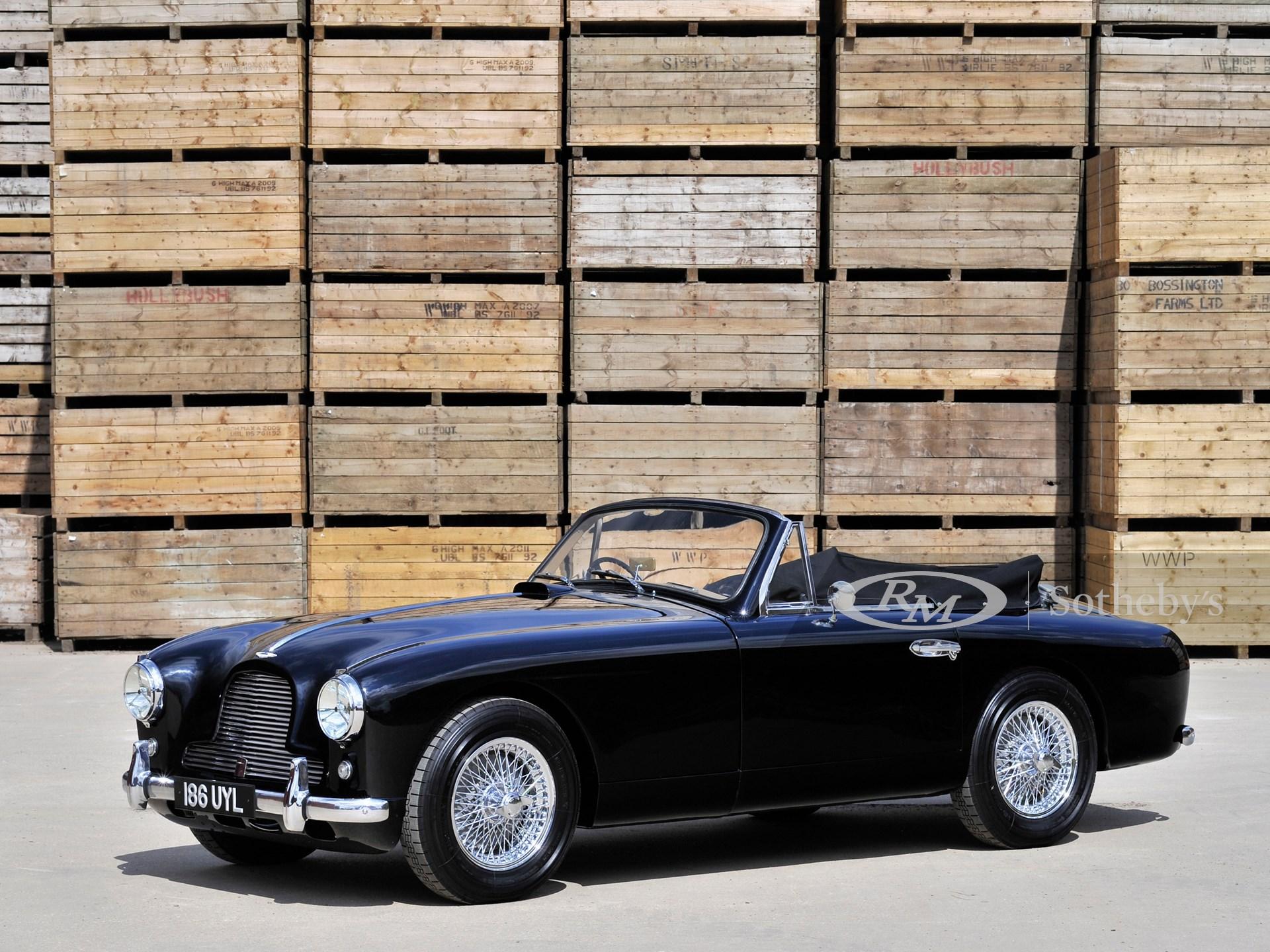 1954 Aston Martin Db2 4 Drophead Coupé London 2015 Rm Sotheby S