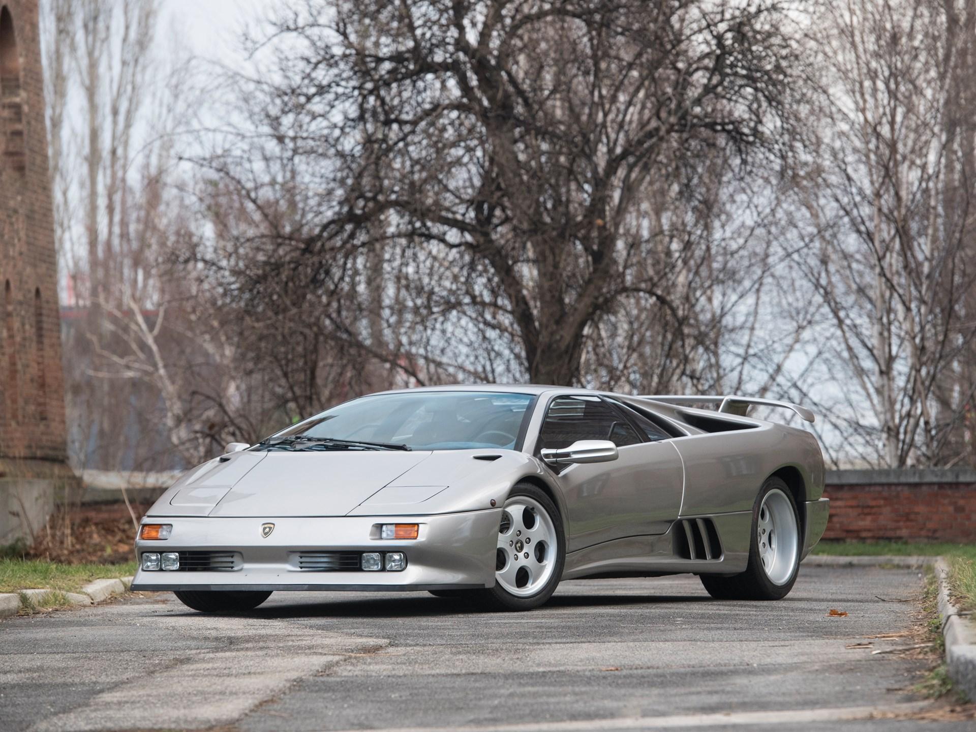 Rm Sotheby S 1996 Lamborghini Diablo Se30 Paris 2018